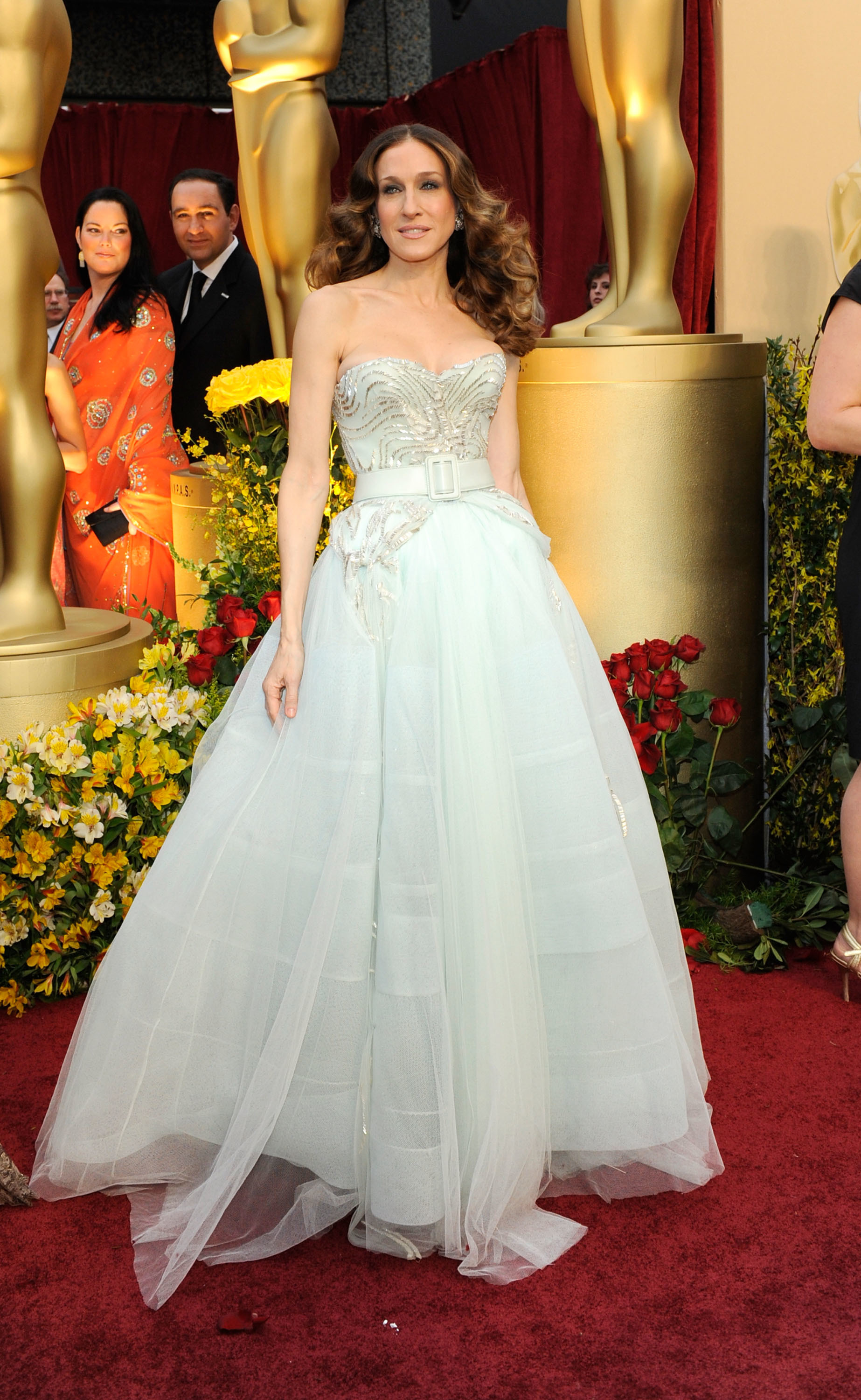 Sarah Jessica Parker arrives at the 81st Annual Academy Awards held at Kodak Theatre in Hollywood on on February 22, 2009.