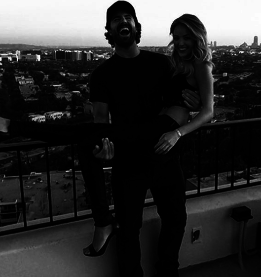 """Blessed to have you by my side every day my love. 😘🌹""   Brody Jenner, who posted this on Feb. 14, 2018."