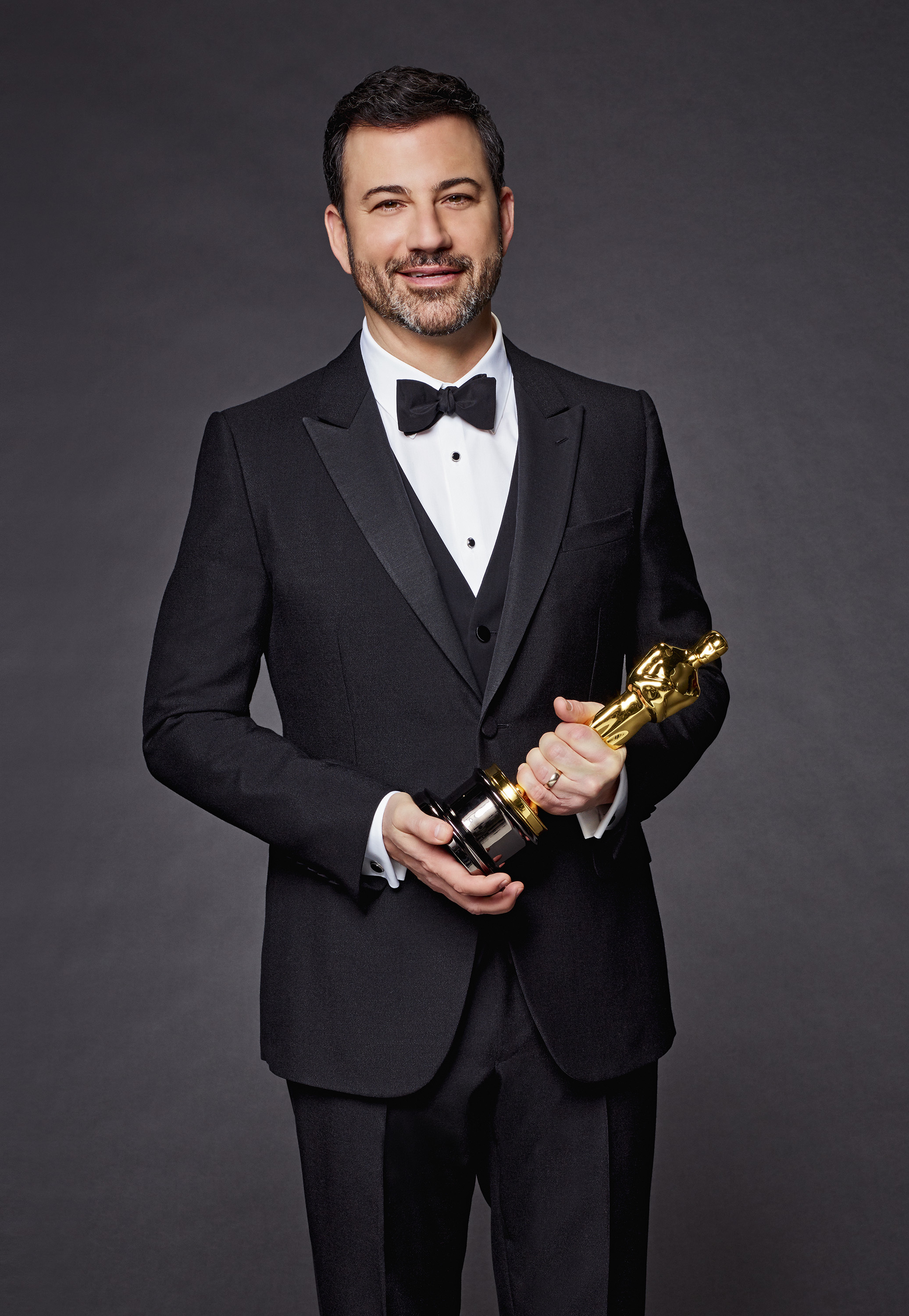 A promotional photo of Jimmy Kimmel ahead of the 2018 Academy Awards.