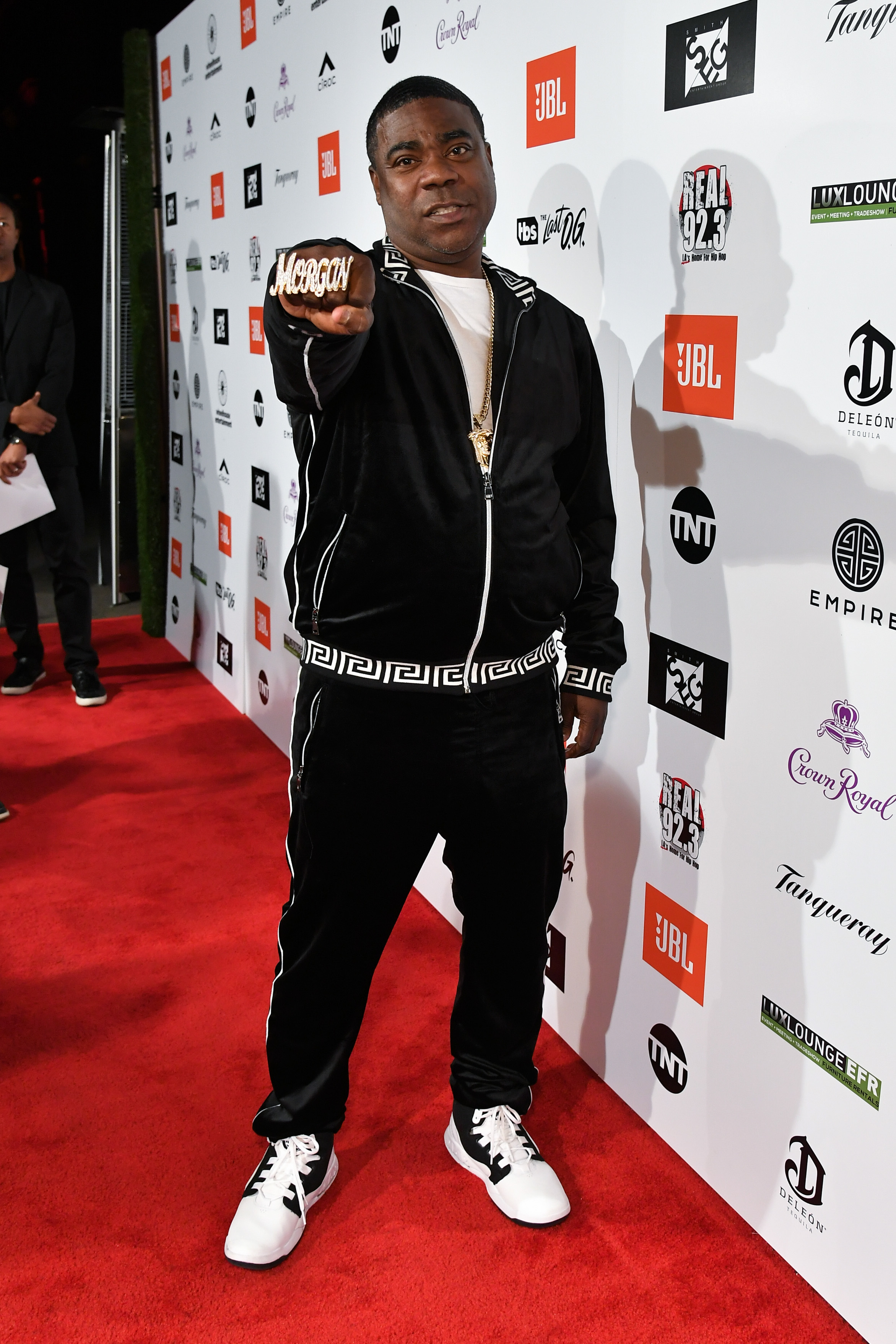 Tracy Morgan attends Kenny Smith's annual NBA All Star Bash powered by Ciroc at Paramount Studios in Los Angeles on Feb. 16, 2018.