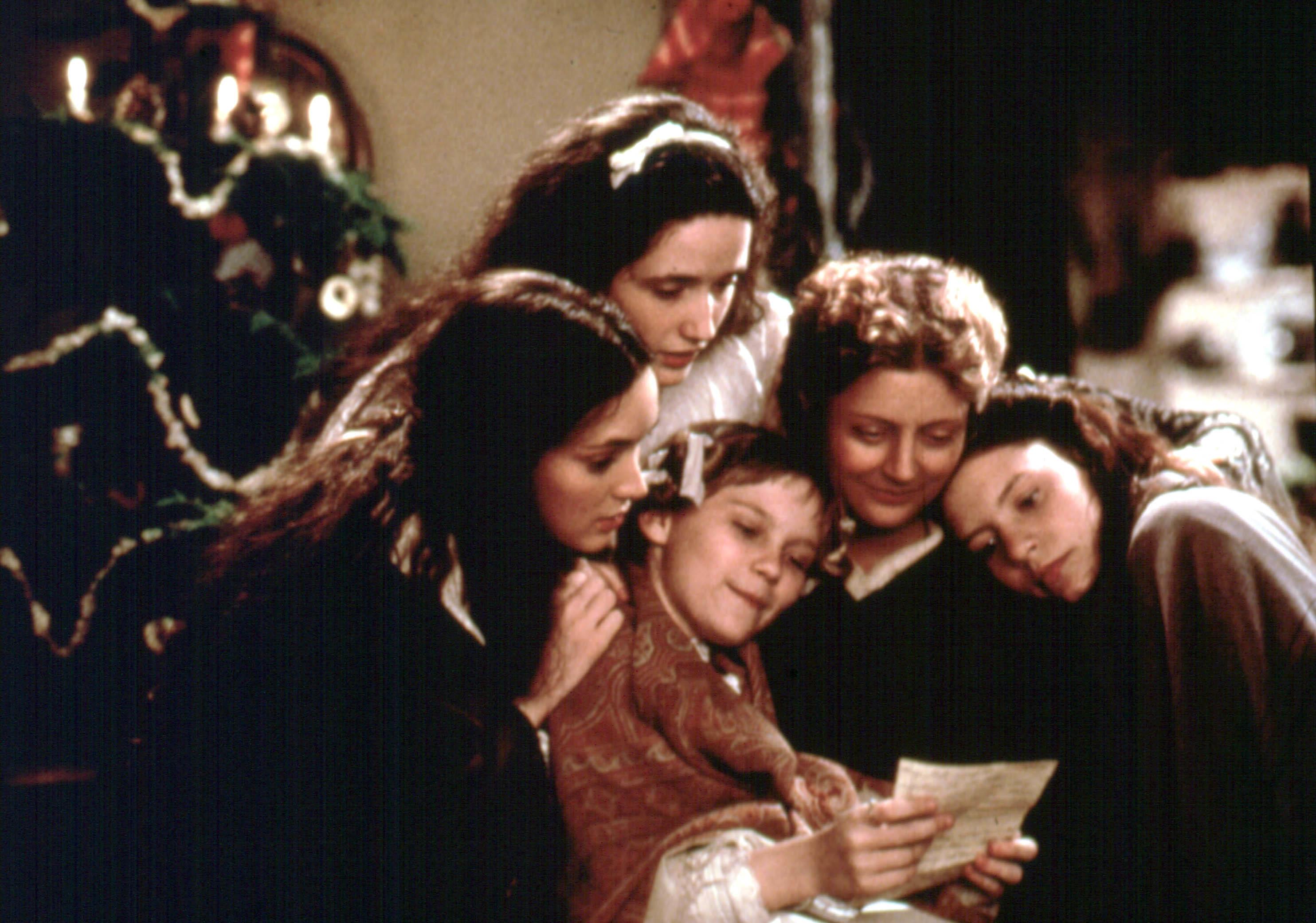 "Winona Ryder, Trini Alvarado, Kirsten Dunst, Susan Sarandon and Claire Danes starred in 1994's ""Little Women."""