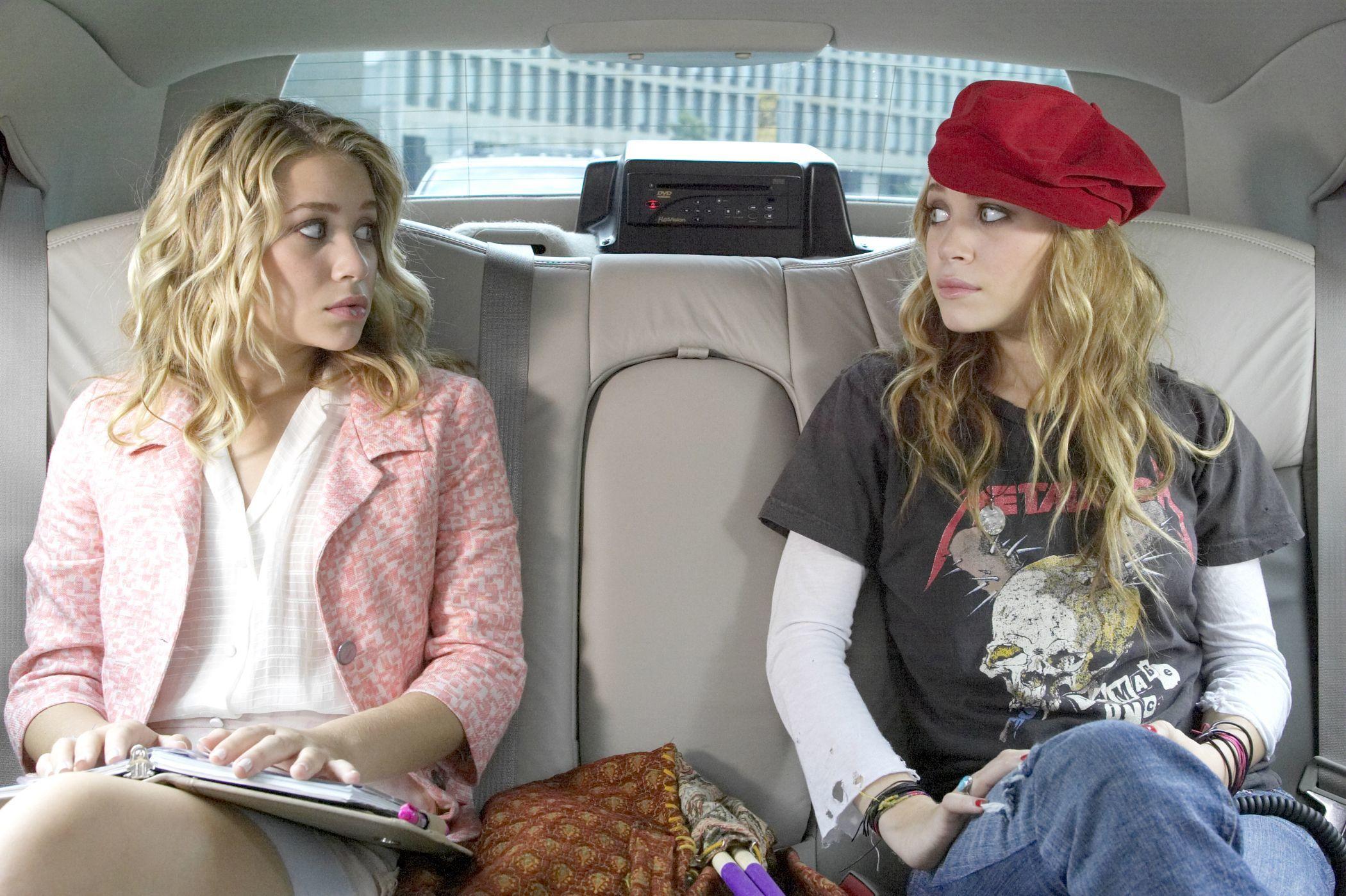 "Ashley Olsen and Mary Kate Olsen starred in 2004's ""New York Minute."""
