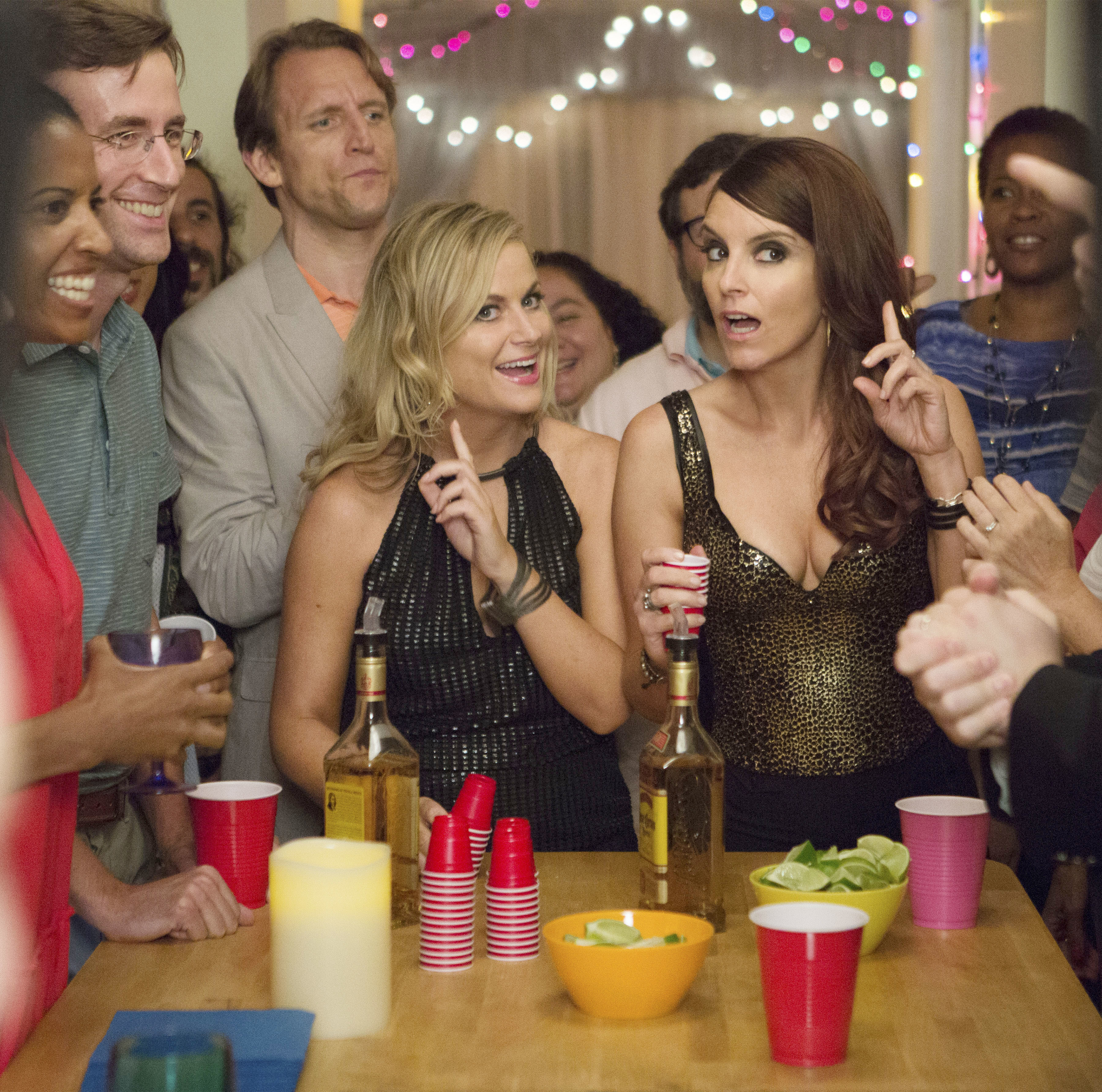 "Amy Poehler and Tina Fey starred in 2015's ""Sisters."""