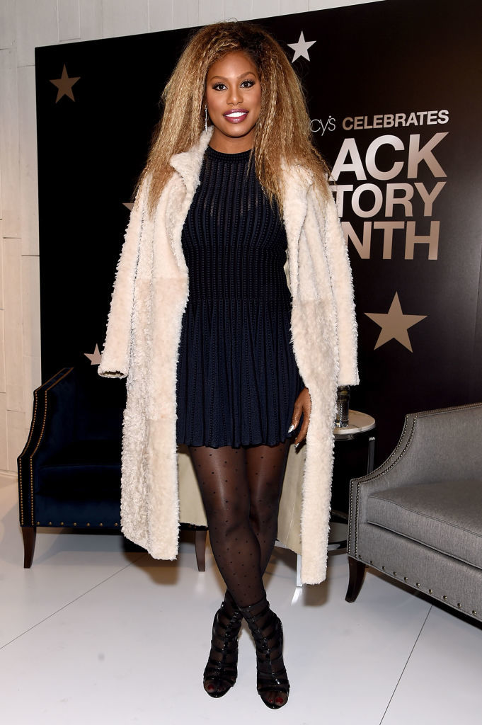 Laverne Cox opens up about the challenges of pursuing an acting career as a black, trans woman