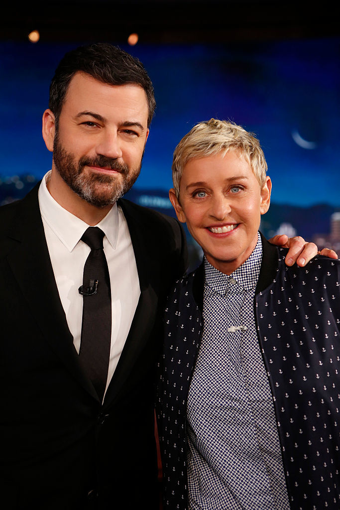Ellen DeGeneres reveals dedication to Jimmy Kimmel's son, Billy