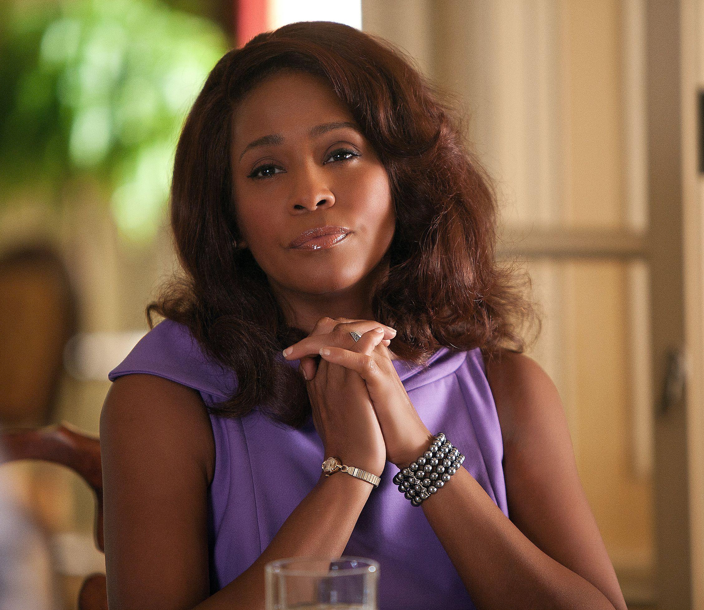 "Whitney Houston in ""Sparkle"" in 2012."