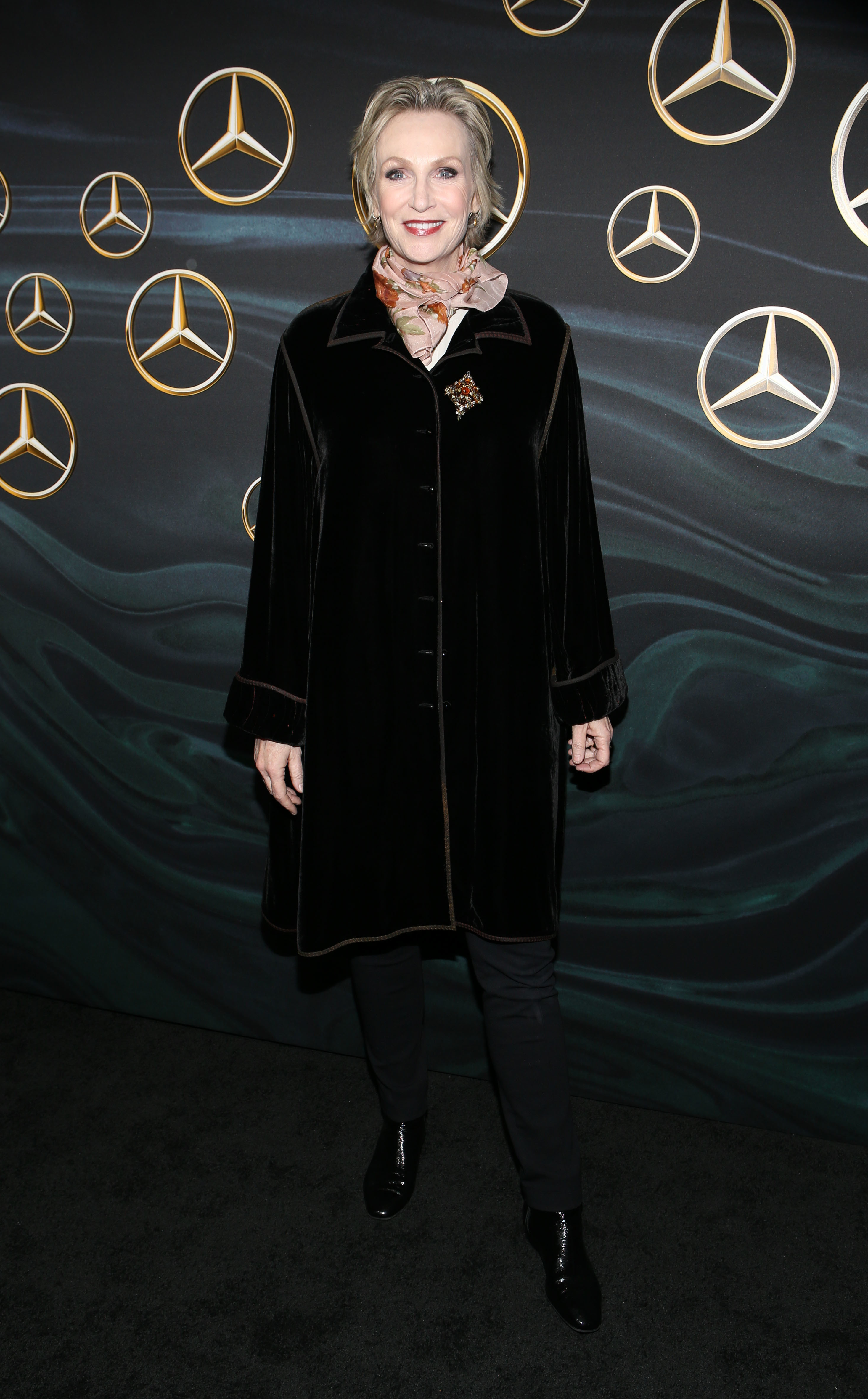 Jane Lynch attends the Mercedes Benz Academy Awards Viewing Party in Los Angeles on March 4, 2018.