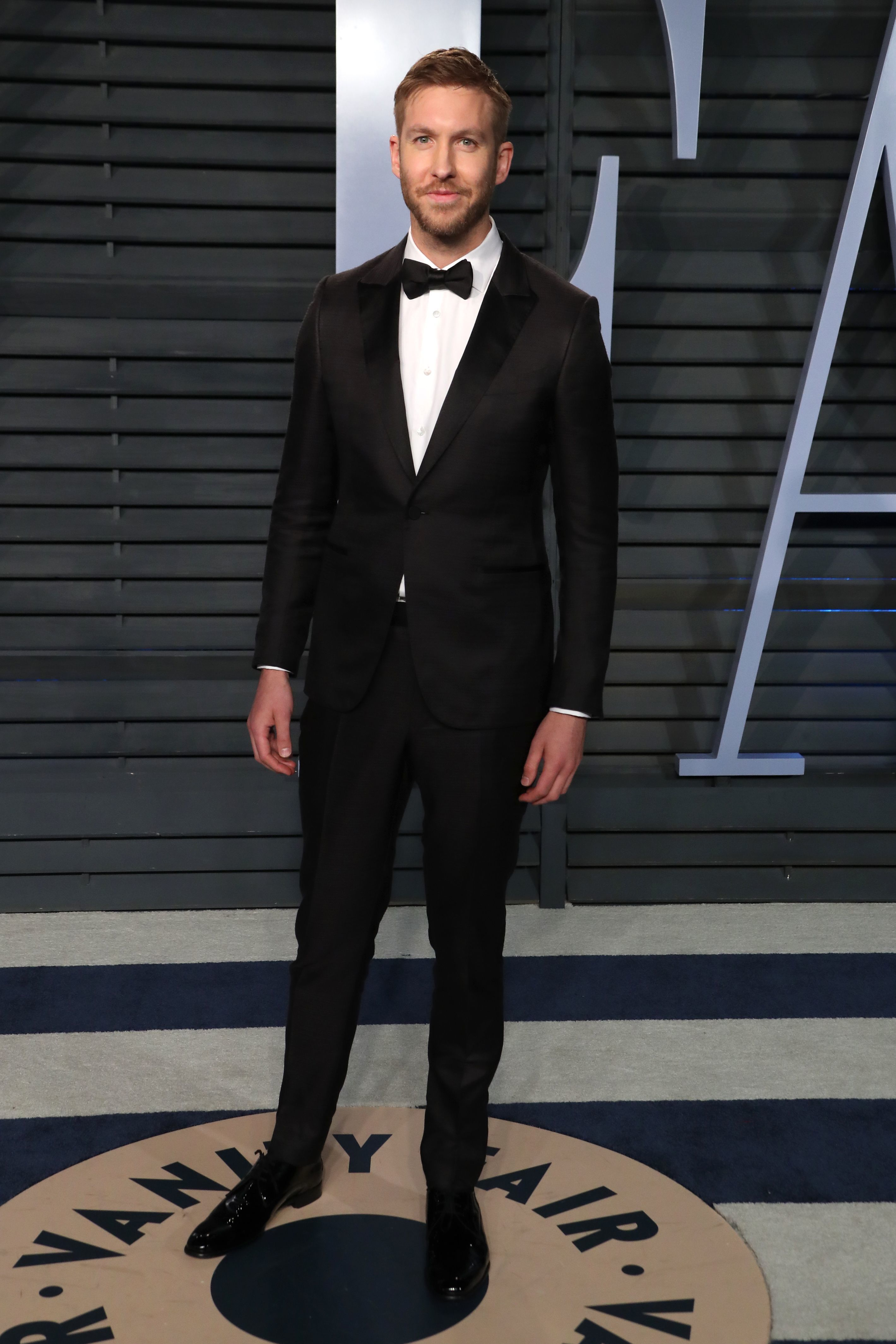 Calvin Harris attends the Vanity Fair Oscar Party in Beverly Hills on March 4, 2018.