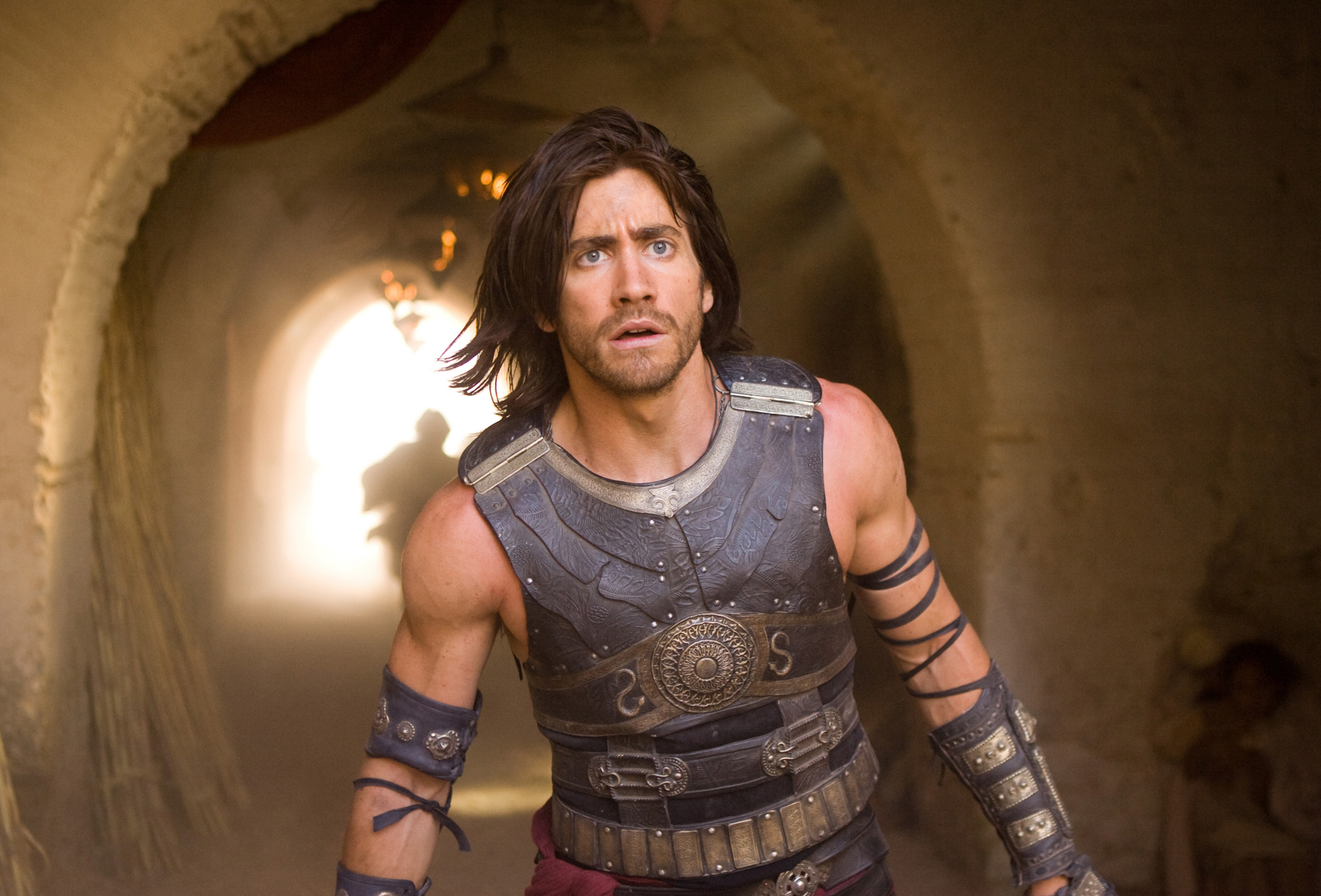 """Jake Gyllenhaal is shown on the set of """"Prince of Persia: The Sands of Time"""" in 2010."""