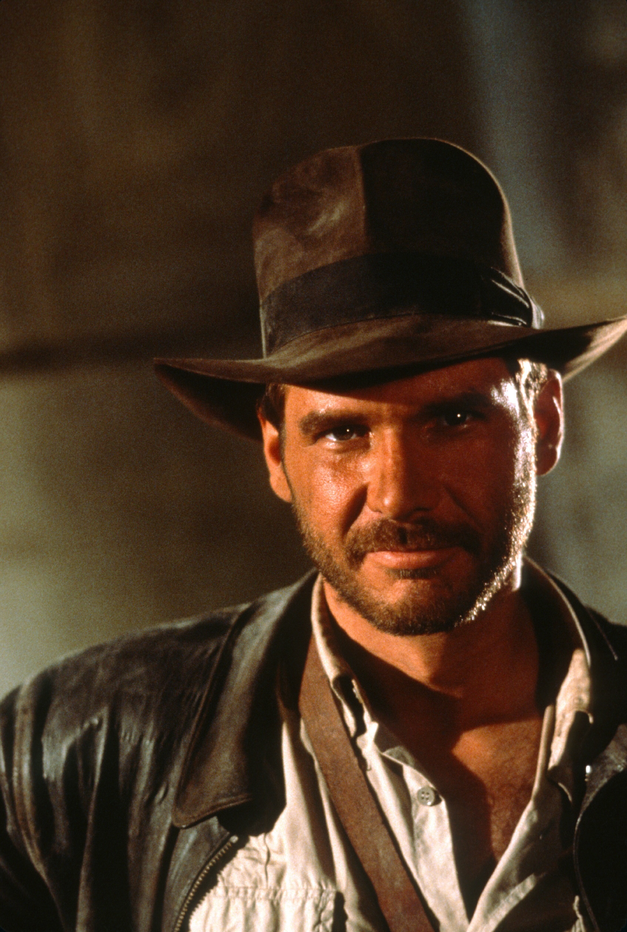 "Harrison Ford in ""Raiders of the Lost Ark"" in 1981."