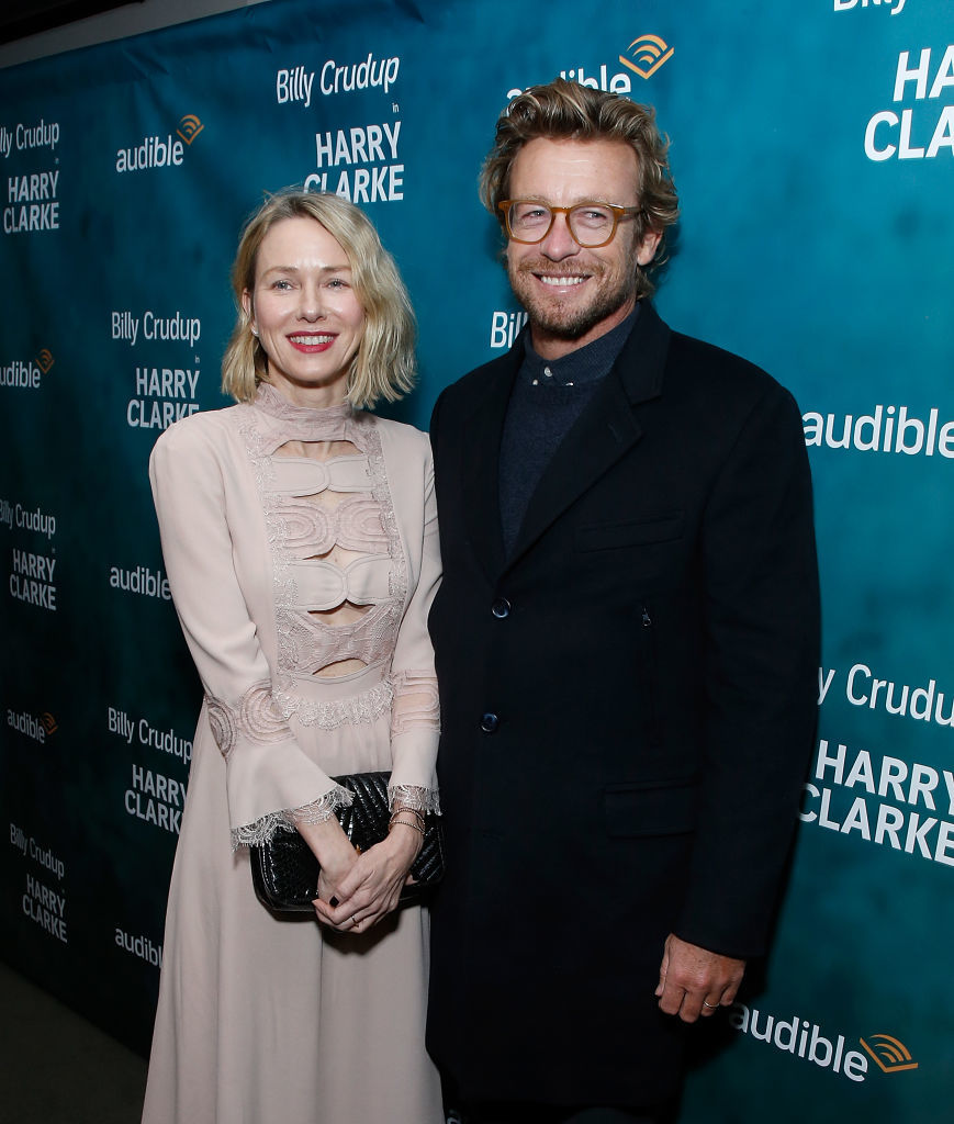 "Naomi Watts and Simon Baker attend ""Harry Clarke"" opening night at the Minetta Lane Theatre i New York City on March 18, 2018 in New York City."