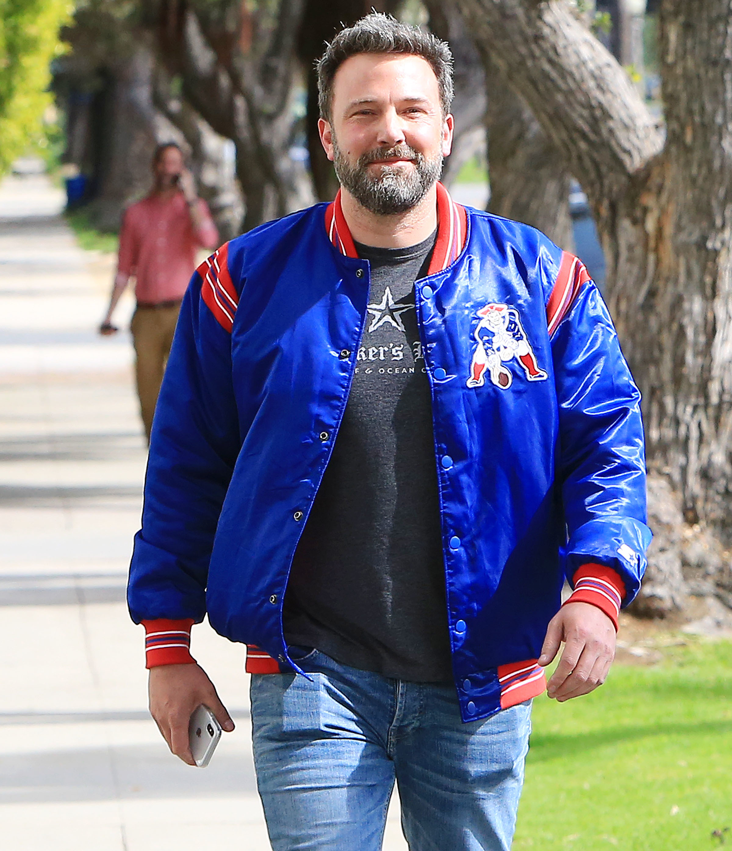 Ben Affleck is spotted out and about in Los Angeles on March 19, 2018.