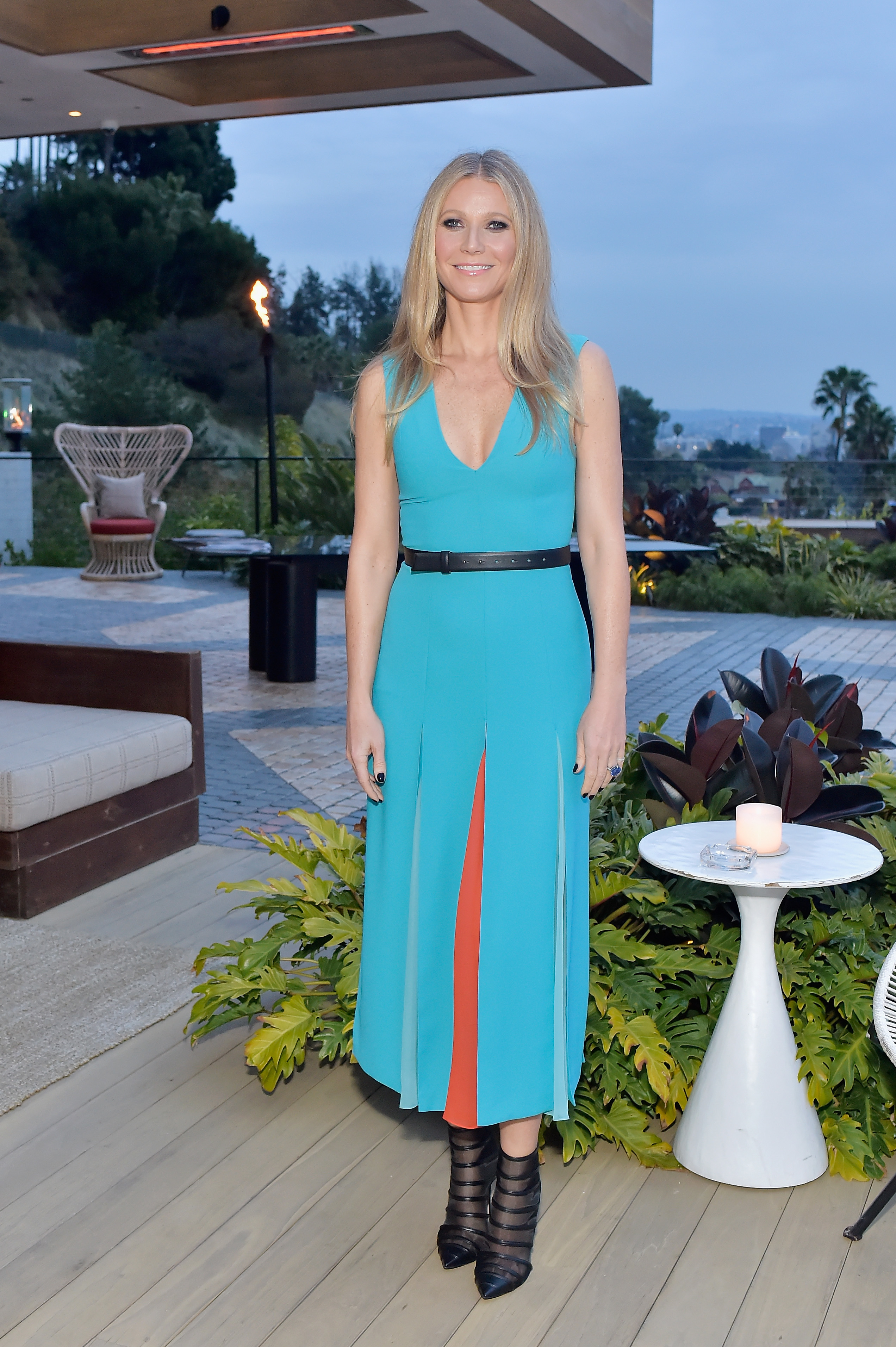 Gwyneth Paltrow attends The Hollywood Reporter and Jimmy Choo Power Stylists Dinner in Los Angeles on March 20, 2018.