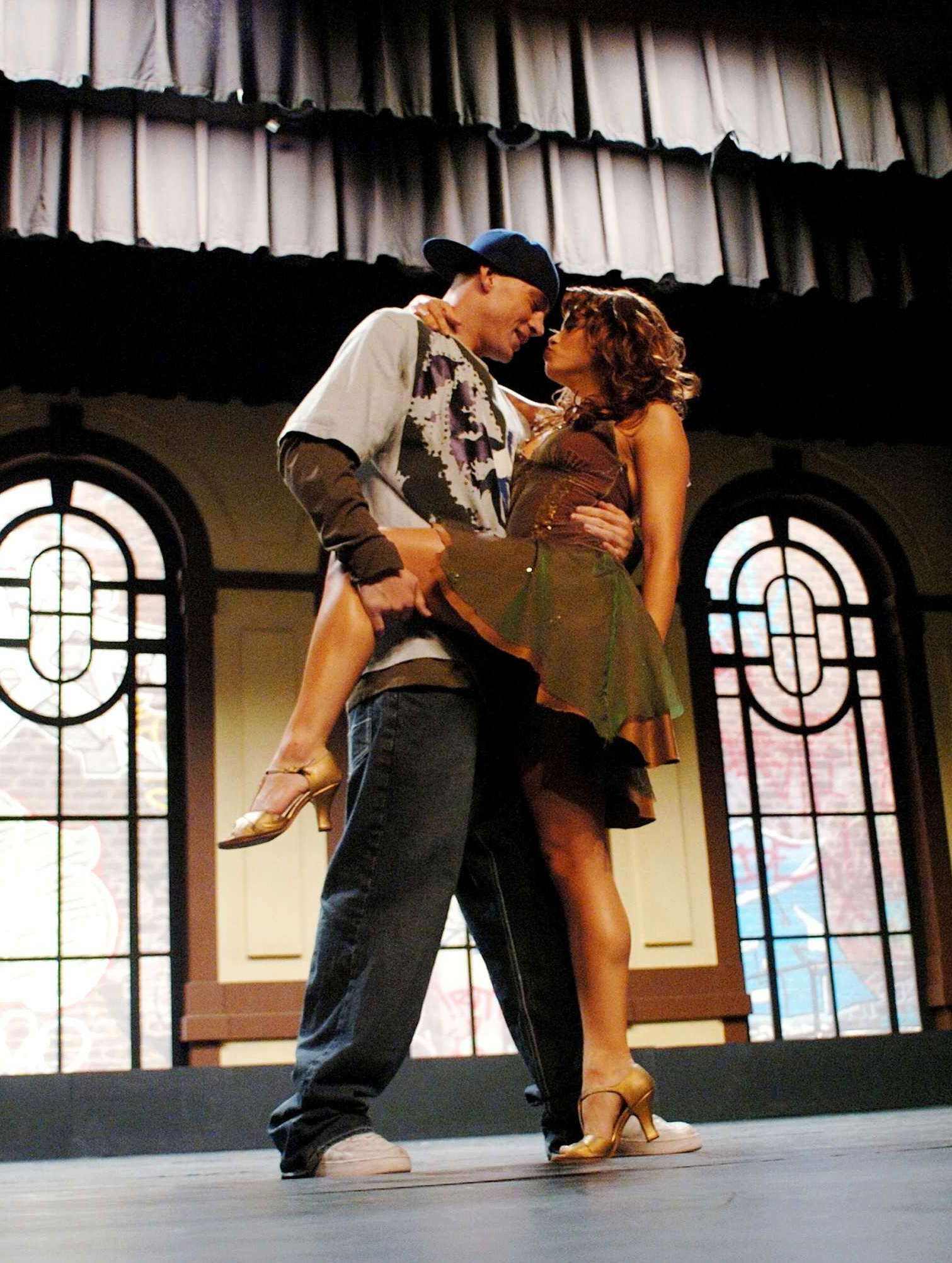 """Channing Tatum and Jenna Dewan starred in 2006's """"Step Up."""""""
