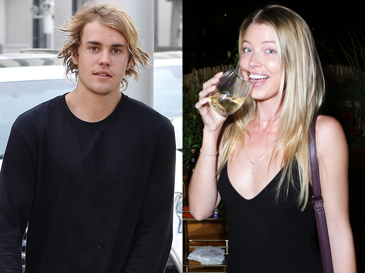 Justin Bieber is photographed out and about with his friends in Beverly Hills on April 6, 2018.  Baskin Champion attends the Callie Collection Wines : Los Angeles Stop Time event on Oct. 17, 2017.