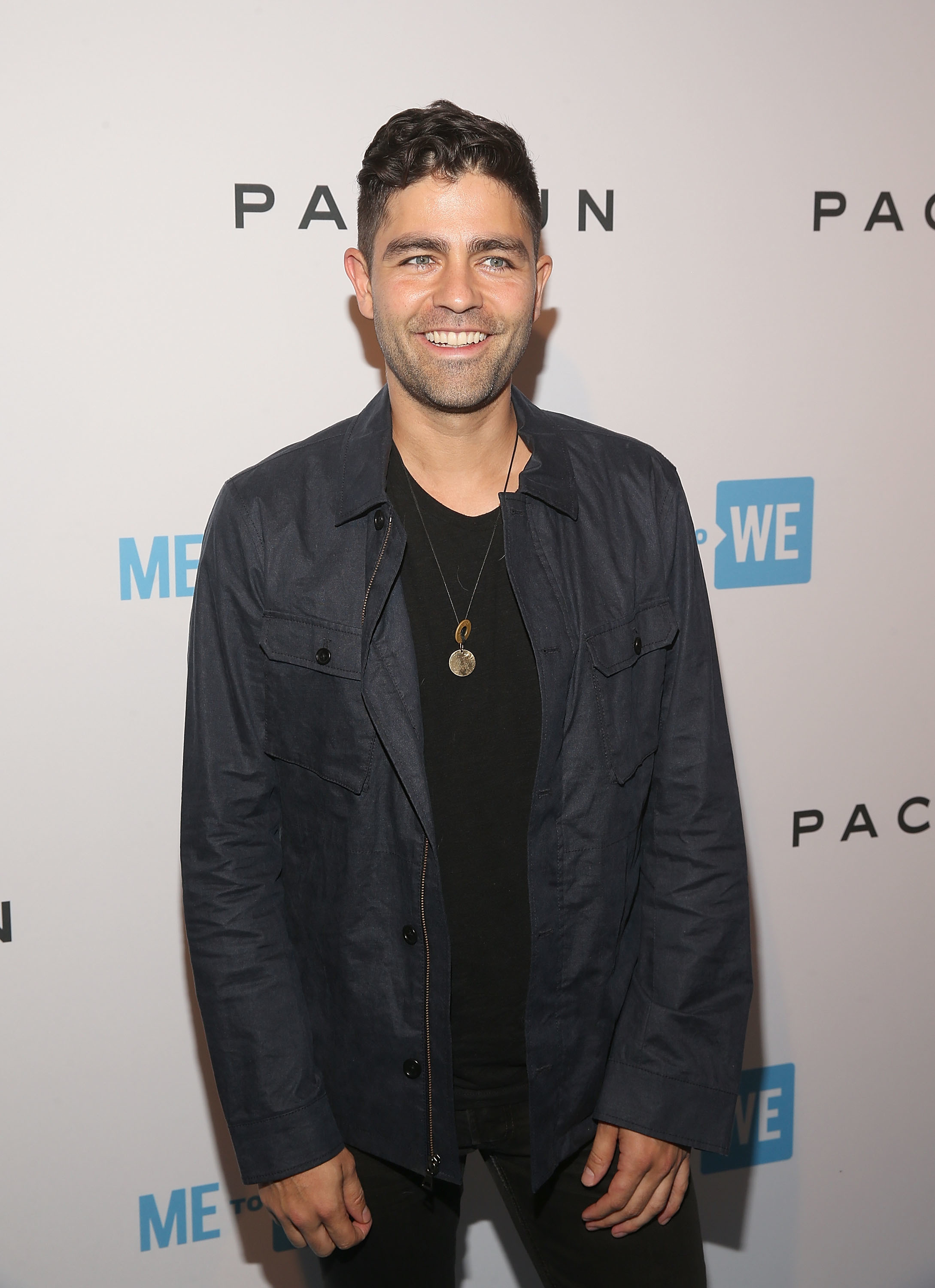 Adrian Grenier attends Party with a Purpose, the Official Pre Party to WE Day California at The Peppermint Club in Los Angeles on April 18, 2018.