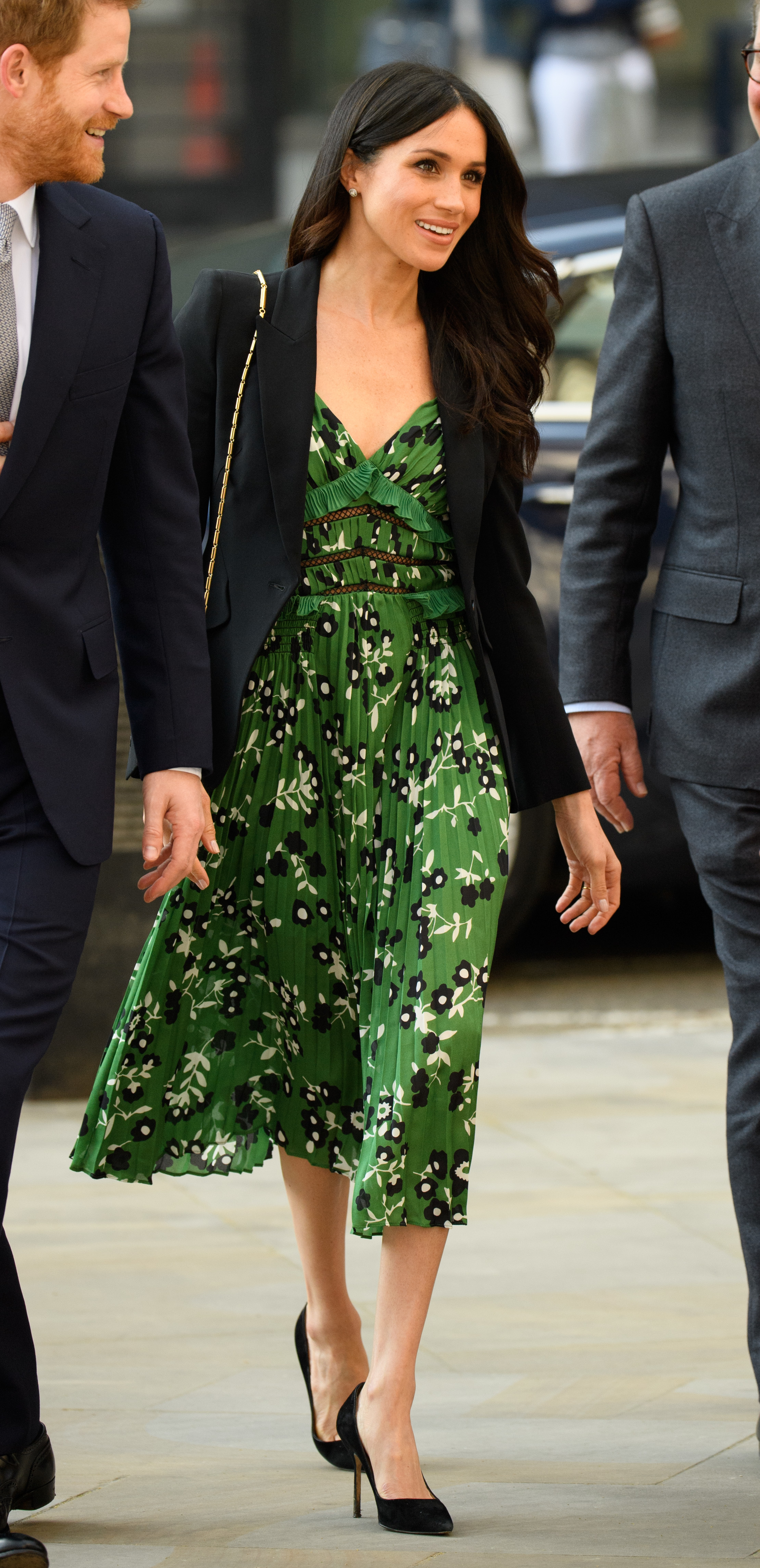Meghan Markle and Prince Harry attend an Invictus Games Reception at Australia House in London on April 21, 2018.