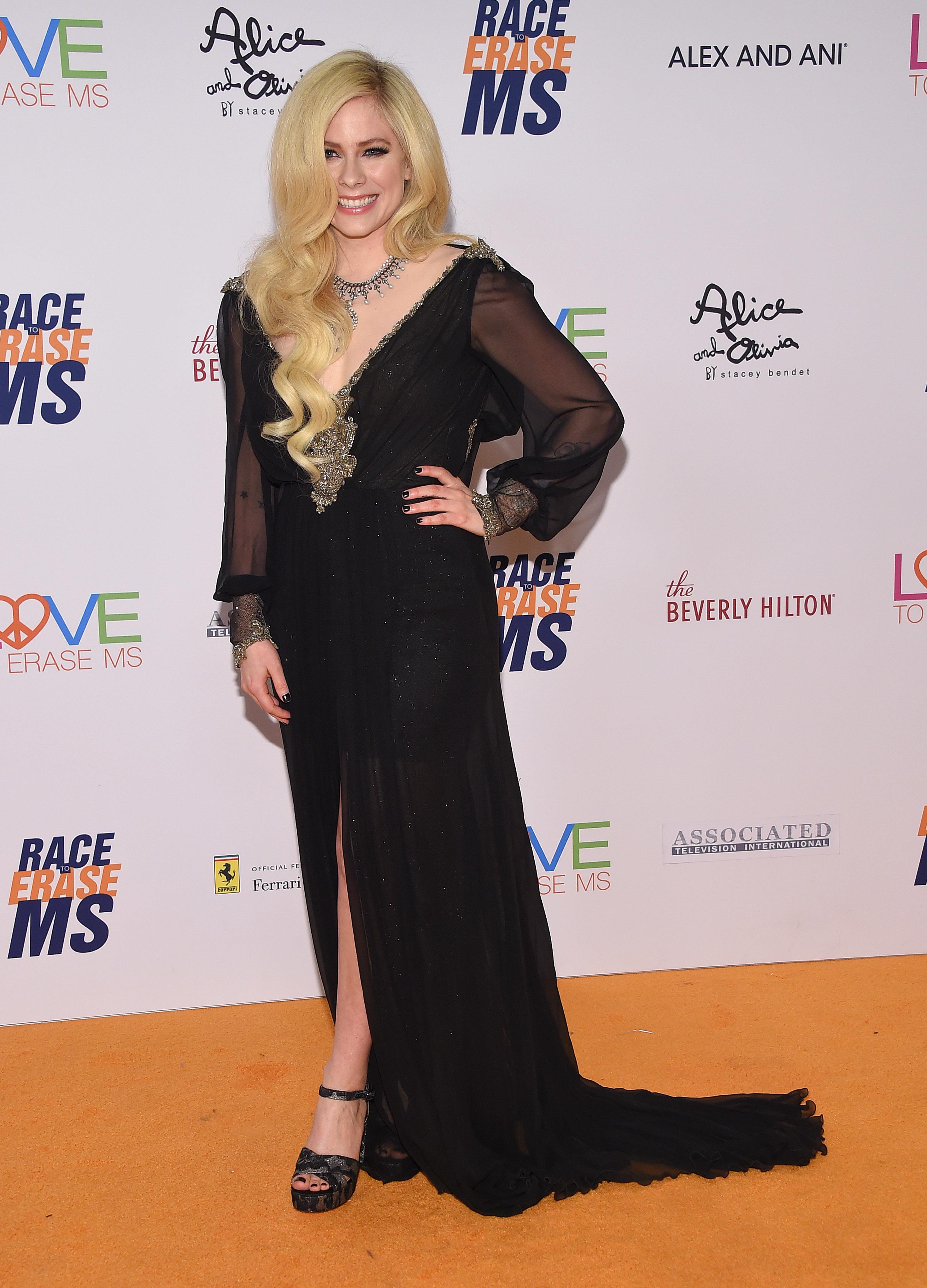 Avril Lavigne is reportedly dating billionaire Phillip Sarofim