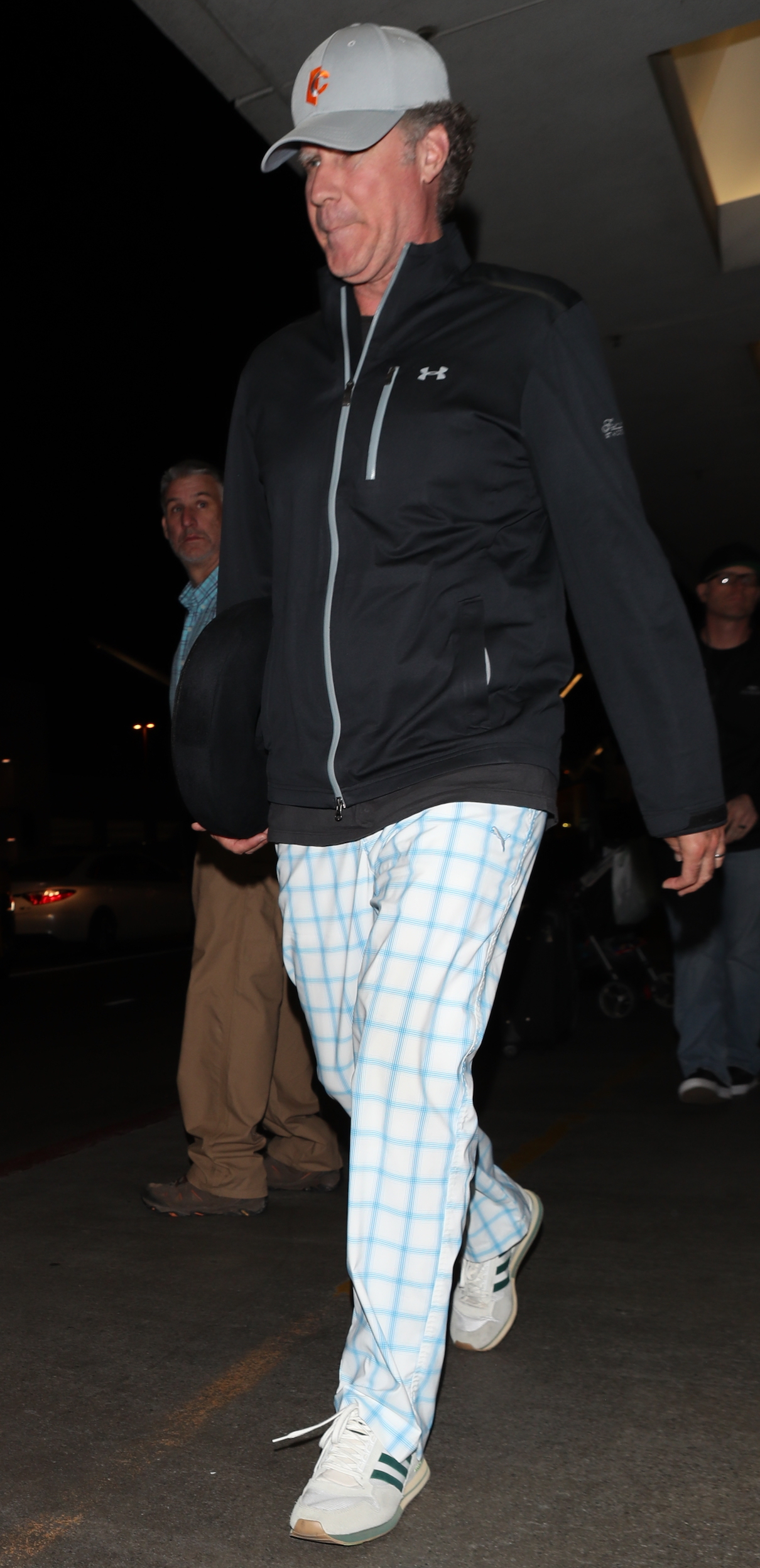 Will Ferrell was spotted arriving at LAX airport in Los Angeles on May 1, 2018.