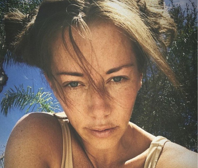 """Just posting random selfies and saying hello to u all. Been trying to take care of myself lately. My mental, emotional n physical well being. Kids come first at all time but mama needs some fun rt now. I need a little kick in the ass. SOS.""  Kendra Wilkinson, who posted this in May 2018"