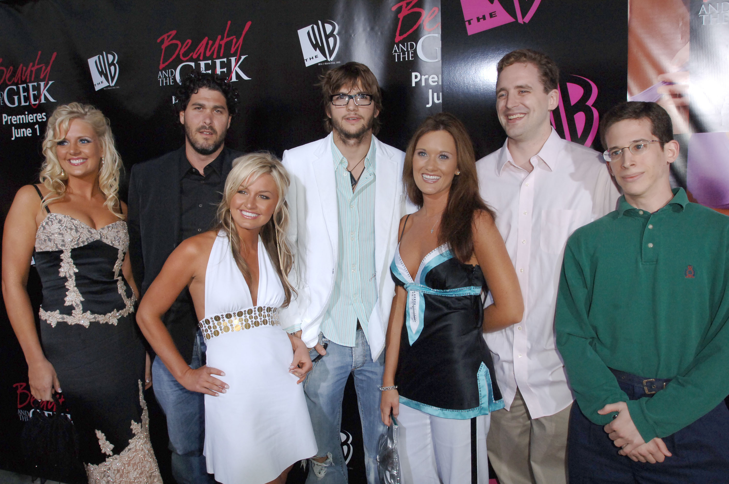 """Cast of WB's """"Beauty & The Geek"""" during WB's """"Beauty and the Geek"""" Launch Party at Geisha House in Hollywood, Calif., 2005."""
