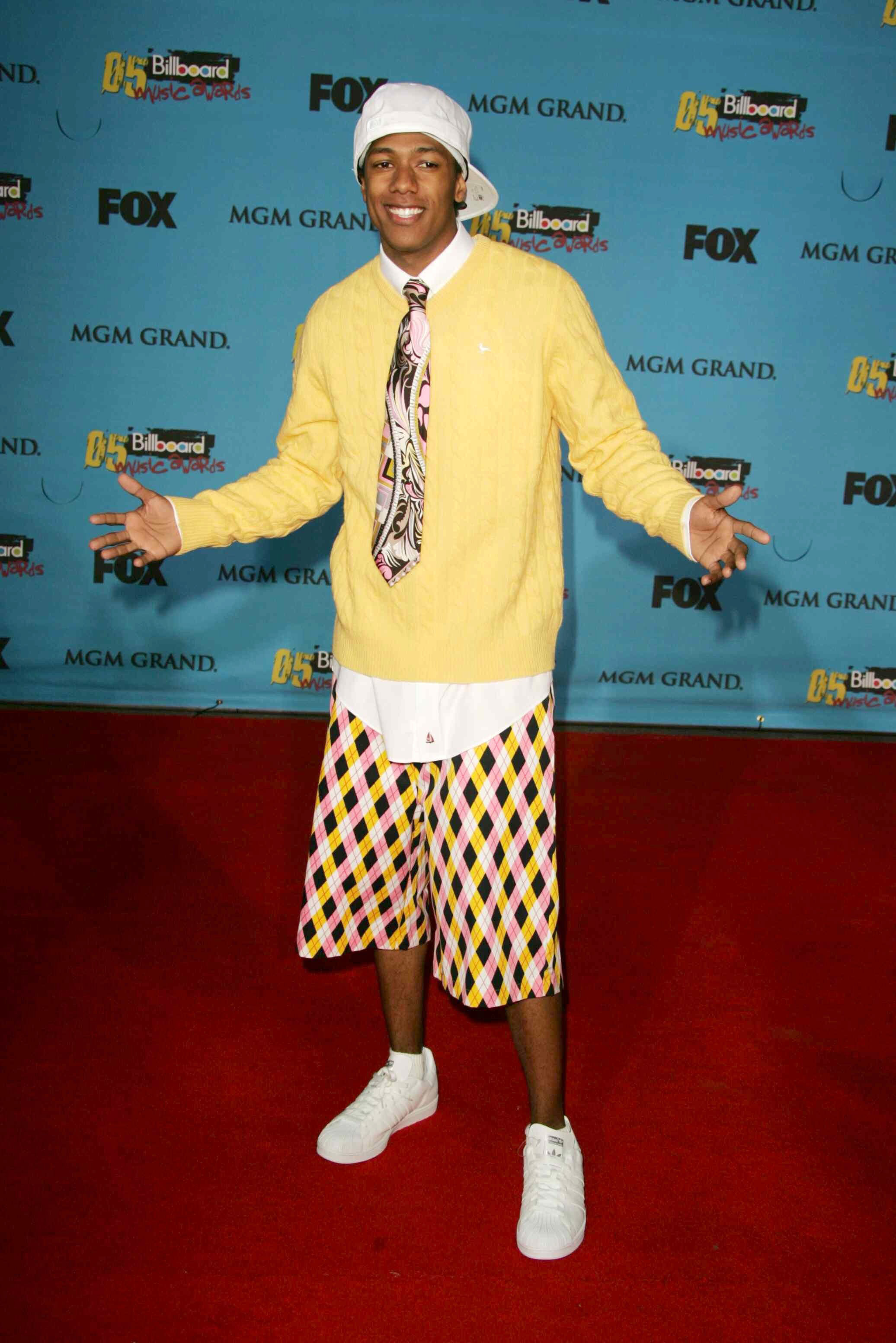 Nick Cannon attends the Billboard Music Awards in Las Vegas on Dec. 6, 2005.