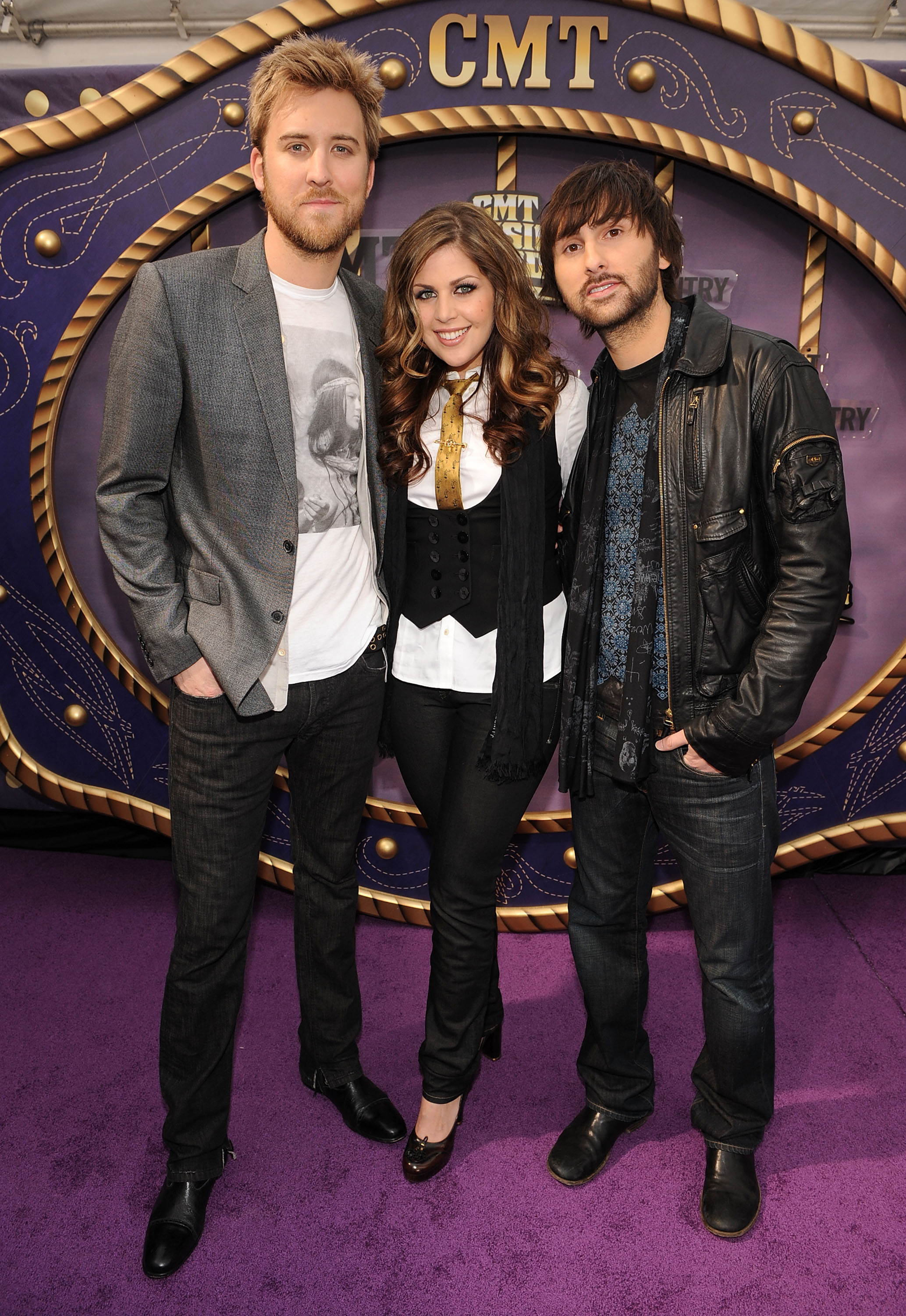 Lady Antebellum attends the CMT Music Awards at the Curb Event Center at Belmont University in Nashville on April 14, 2008.