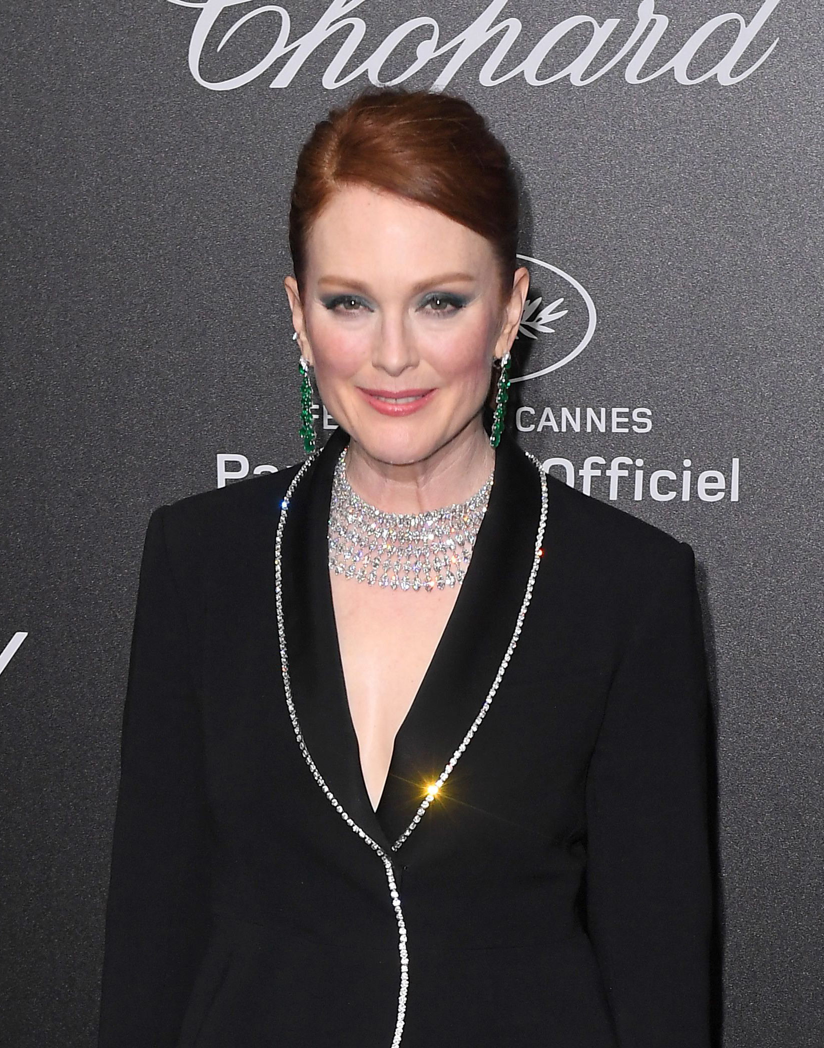 Julianne Moore attends the Secret Chopard party for the 71st Cannes Film Festival on May 11, 2018.