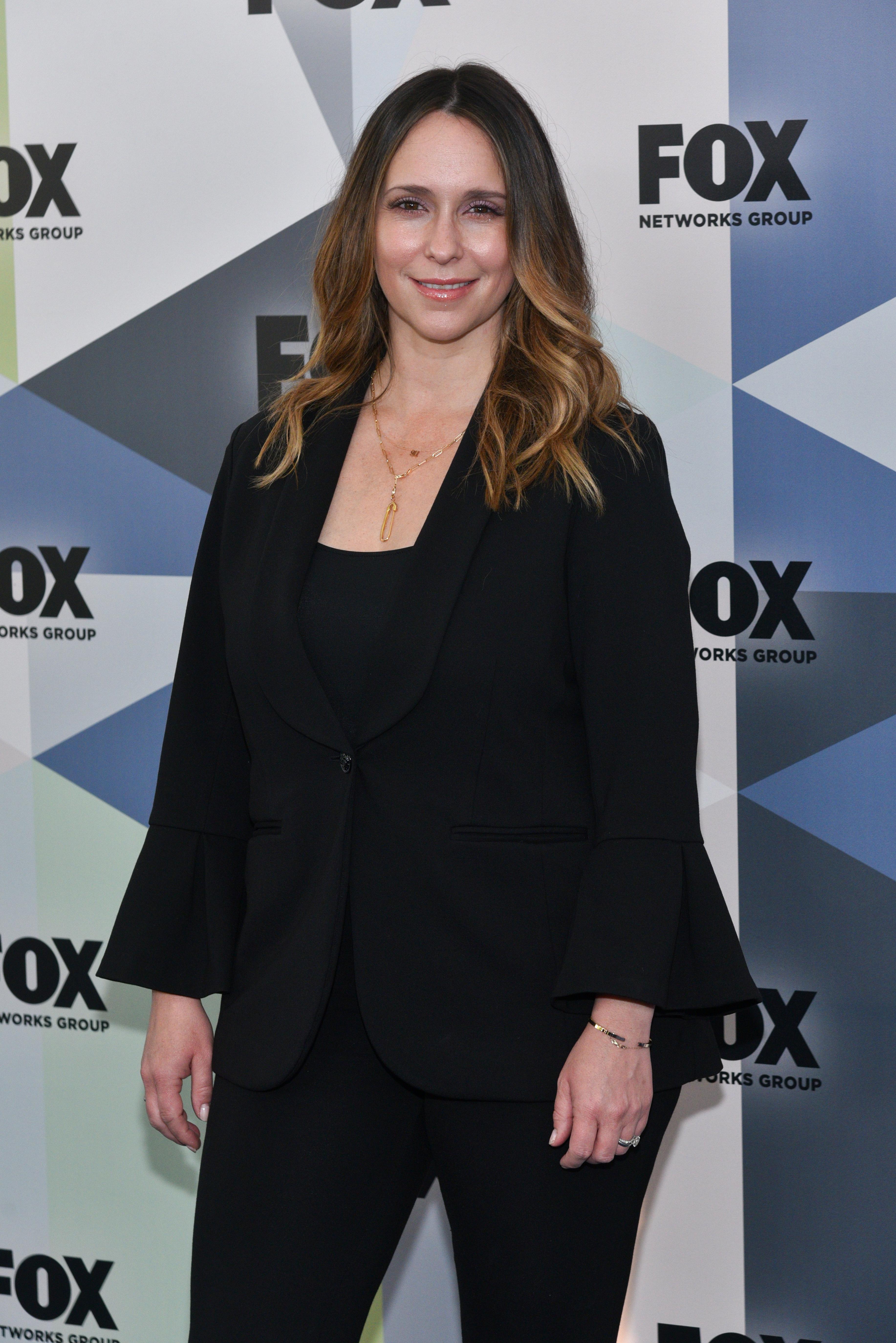 Jennifer Love Hewitt attends the Fox Upfront Presentation in New York City on May 14, 2018.