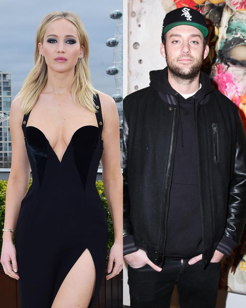 Jennifer Lawrence's boyfriend - celeb love updates for ...