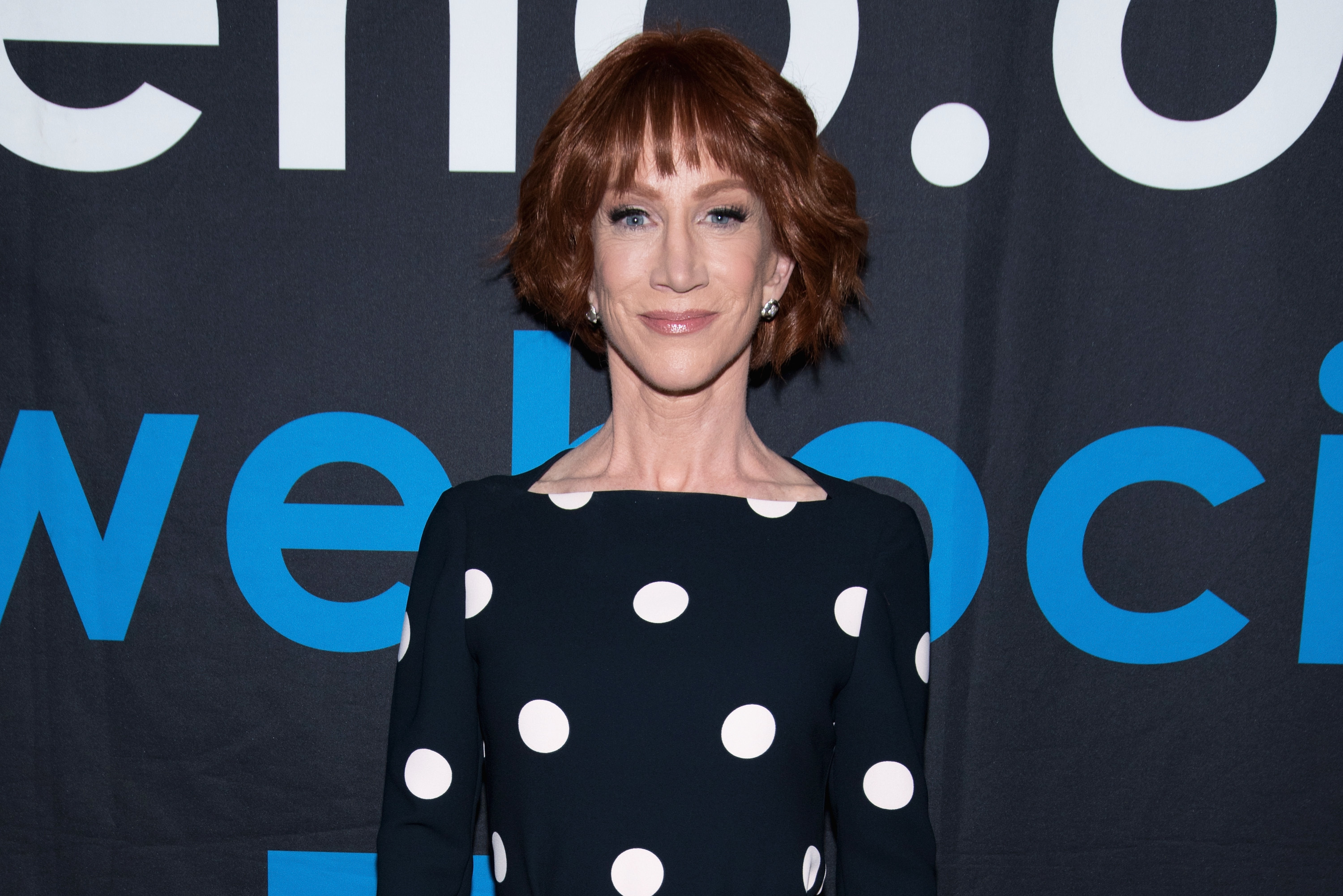 Kathy Griffin is honored during the Rainbow Key Awards at the City of West Hollywood's Council Chambers on June 5, 2018.