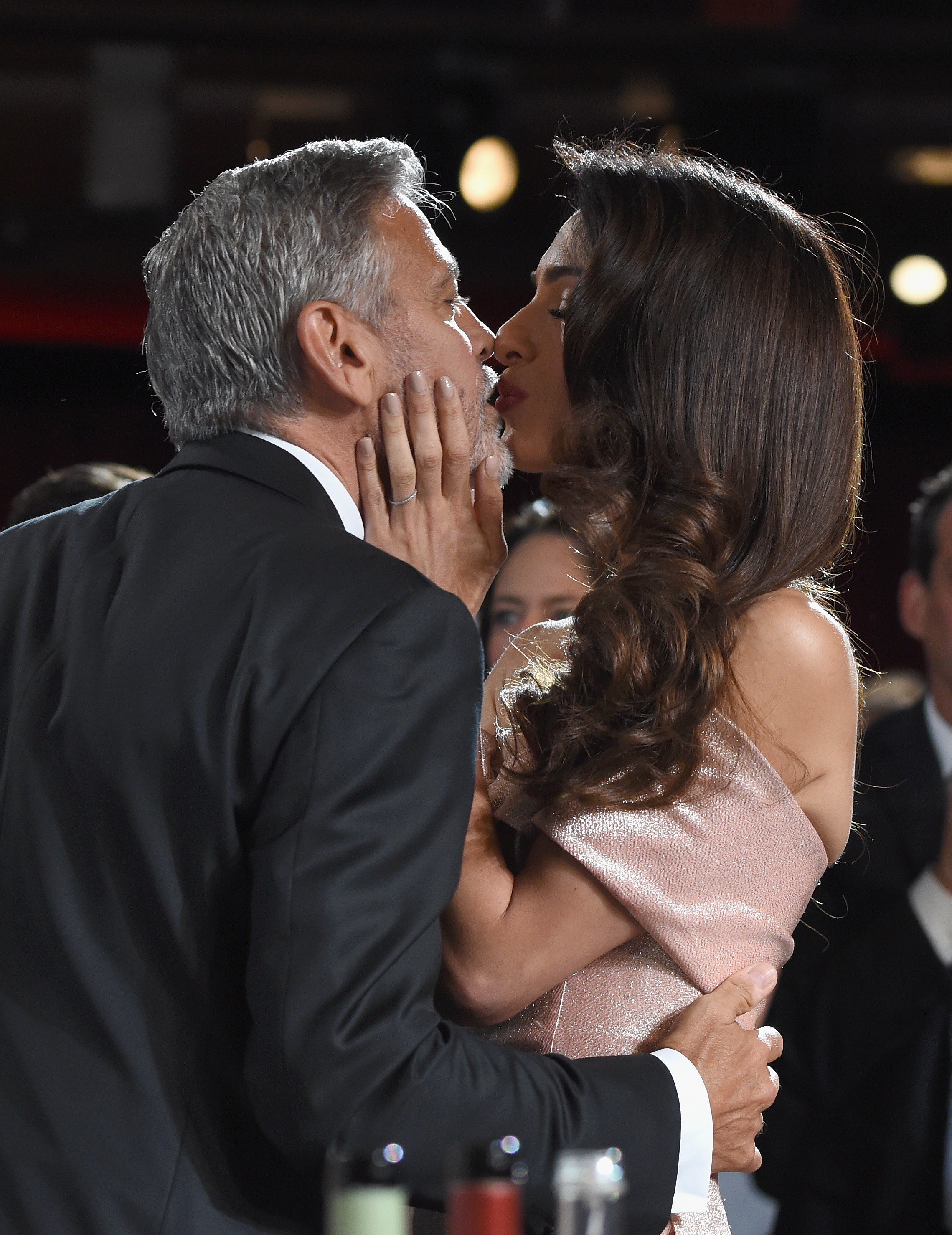 George Clooney and Amal Clooney attend Audi presents the American Film Institute's 46th Life Achievement Award Gala Tribute to George Clooney in Hollywood on June 7, 2018.