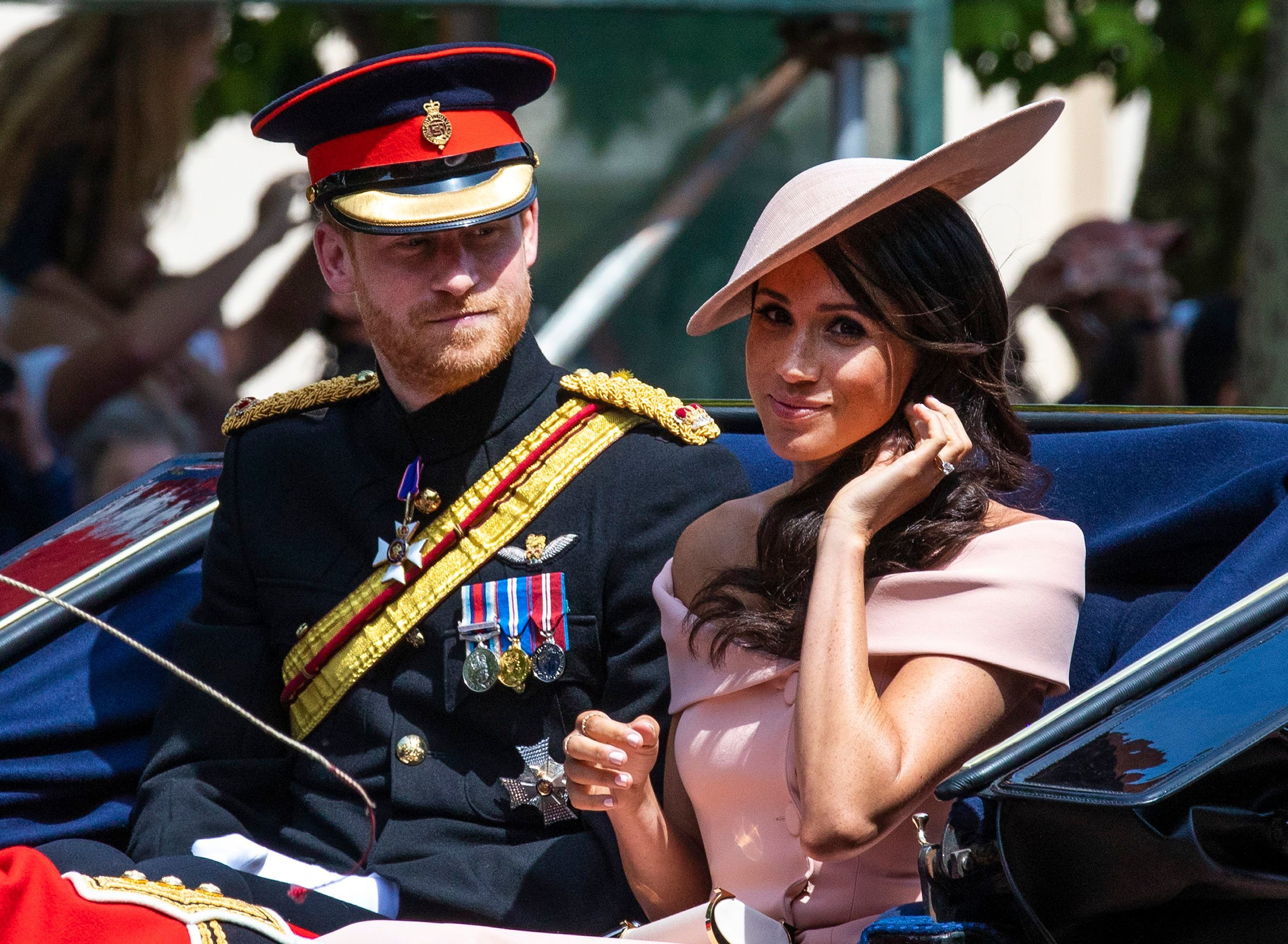 2018 Trooping the Colour: see the British Royal Family