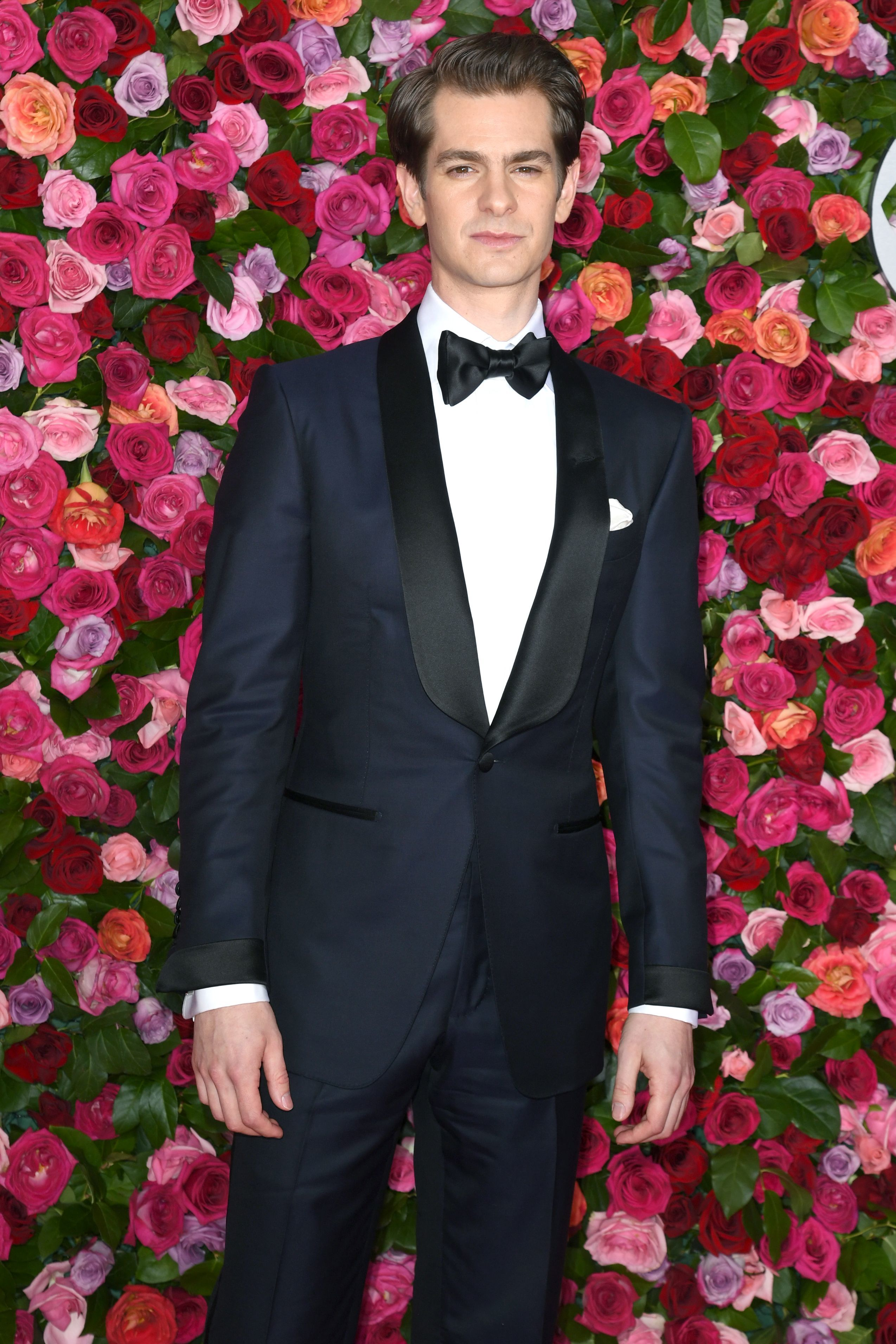 Andrew Garfield arrives at the 72nd Annual Tony Awards in New York City on June 10, 2018.