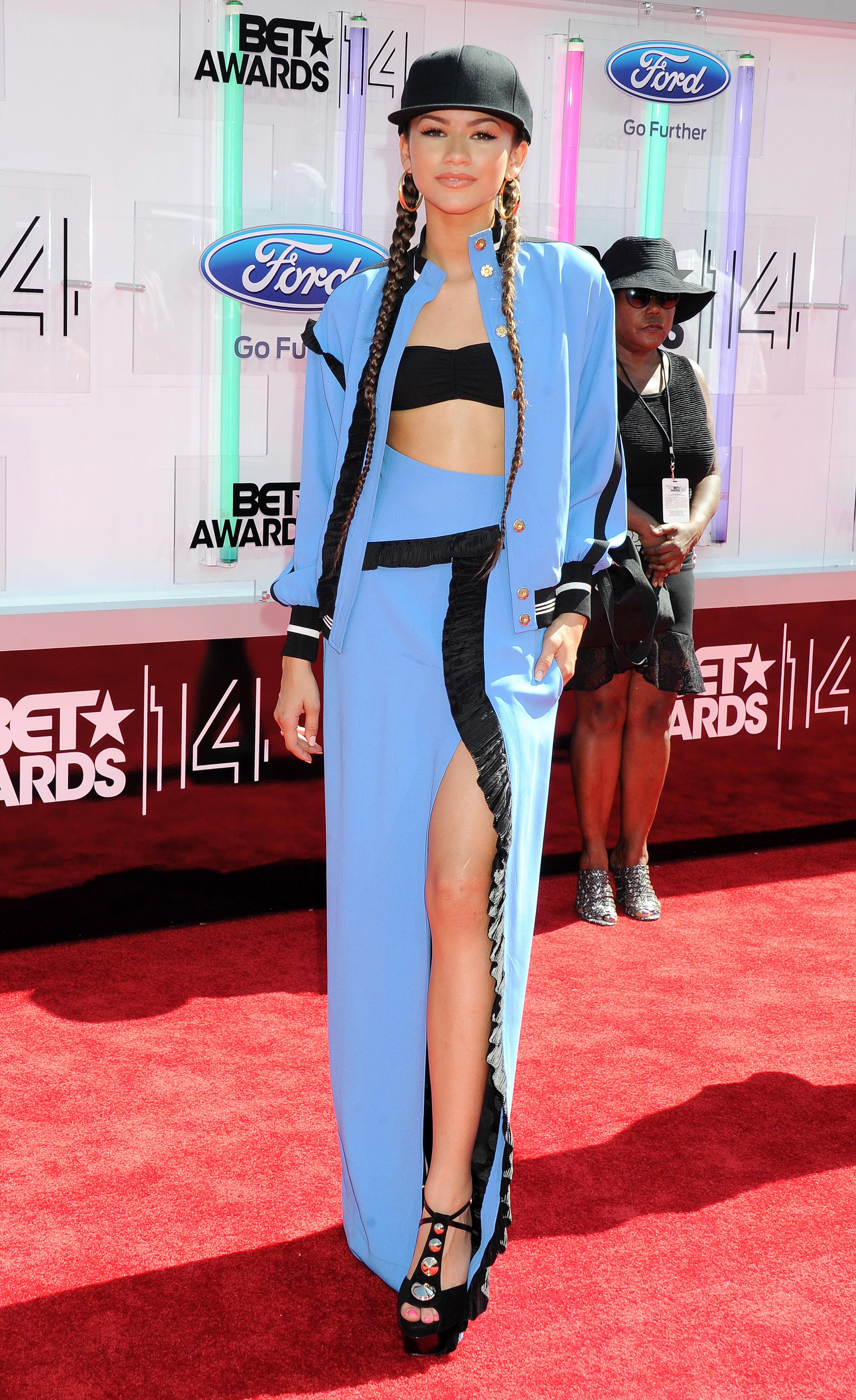 Zendaya Most Memorable Bet Awards Fashion Moments