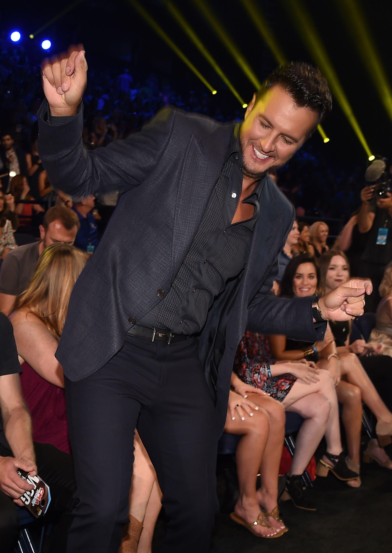 Luke Bryan attends the CMT Music Awards in Nashville on June 6, 2018.