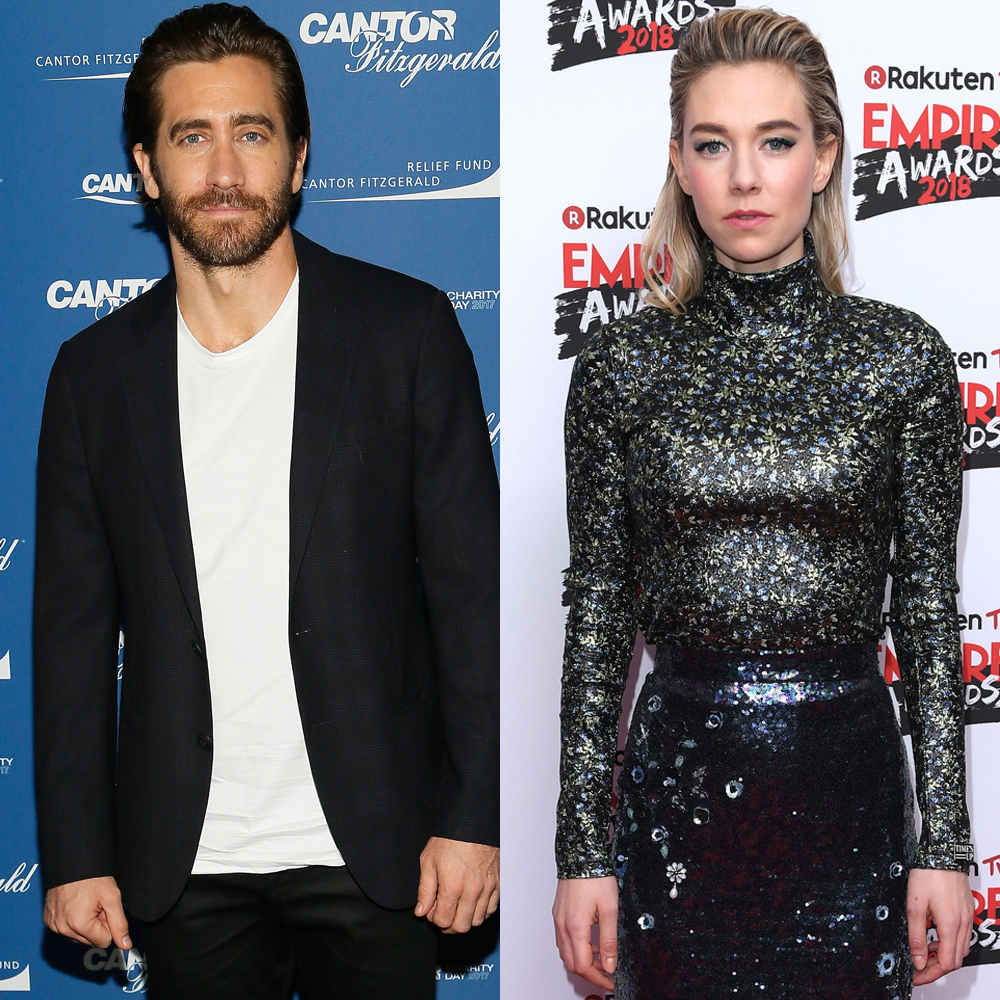Jake Gyllenhaal attends the Annual Charity Day hosted by Cantor Fitzgerald, BGC and GFI at Cantor Fitzgerald in New York City on Sept. 11, 2017. Vanessa Kirby attends the Rakuten TV Empire Awards in  London on March 18, 2018.