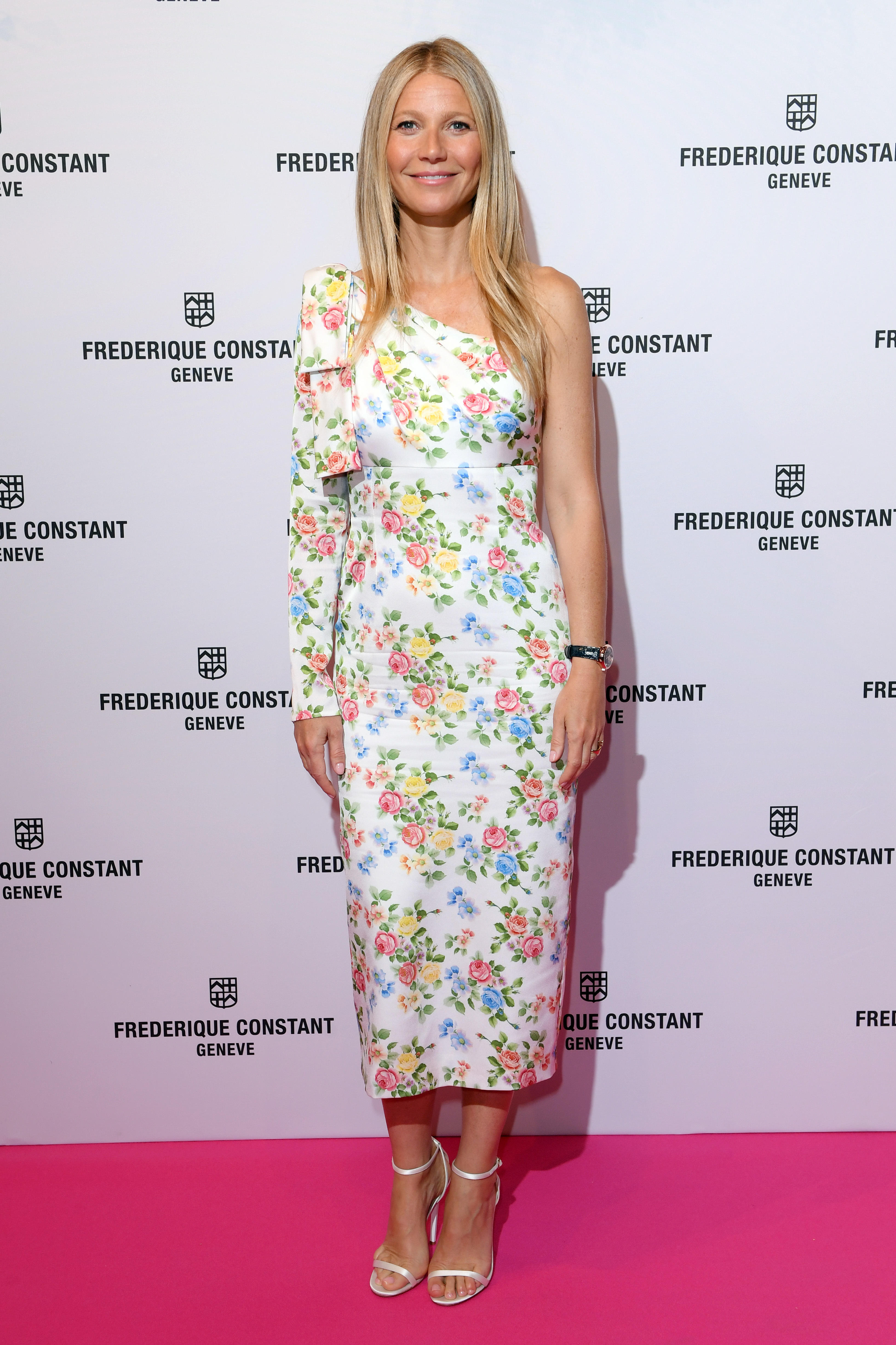 Gwyneth Paltrow appears at the Gwyneth Paltrow x Frederique Constant watch launch party in London on June 21, 2018.