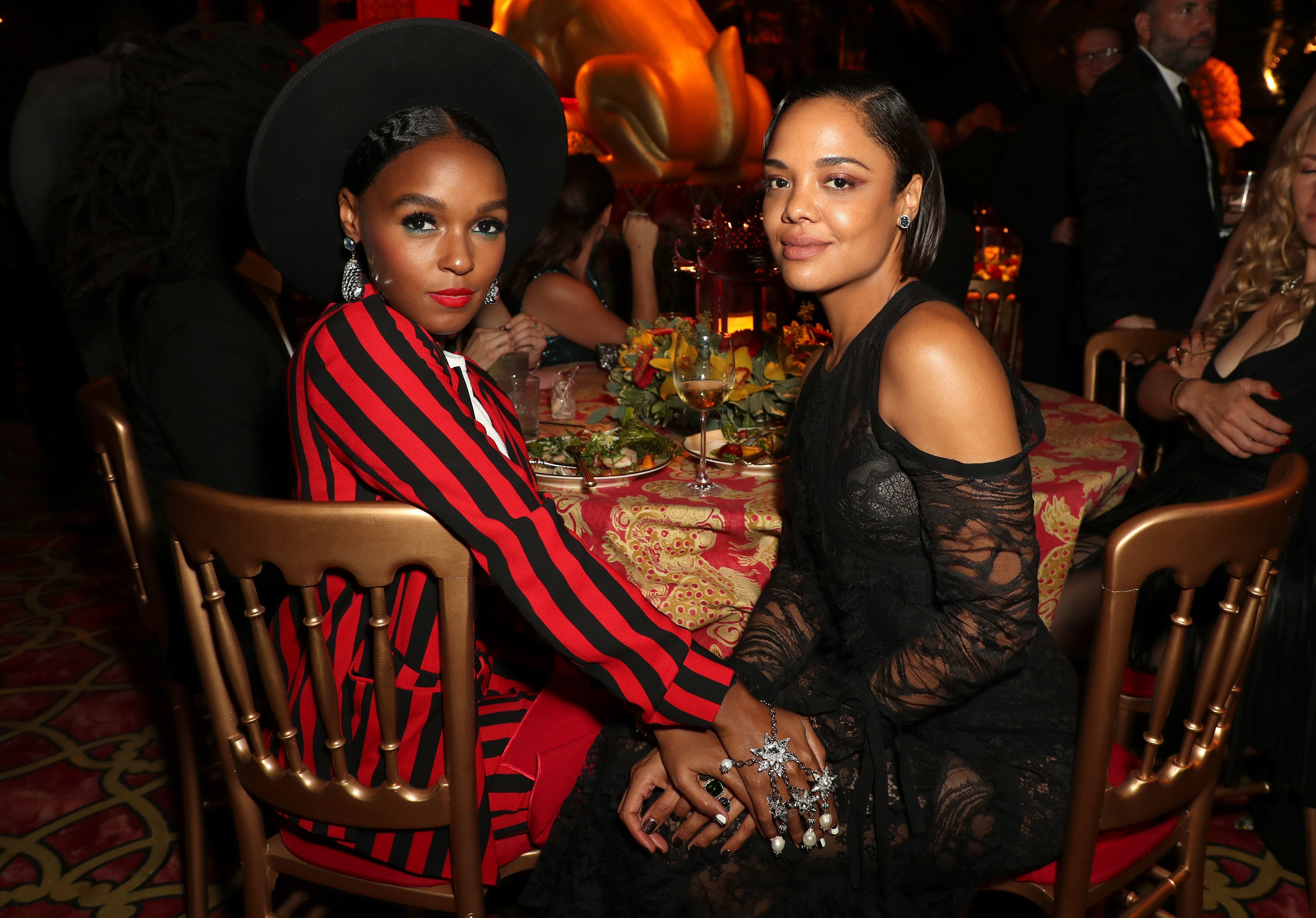 Tessa Thompson clarifies Janelle Monae comments
