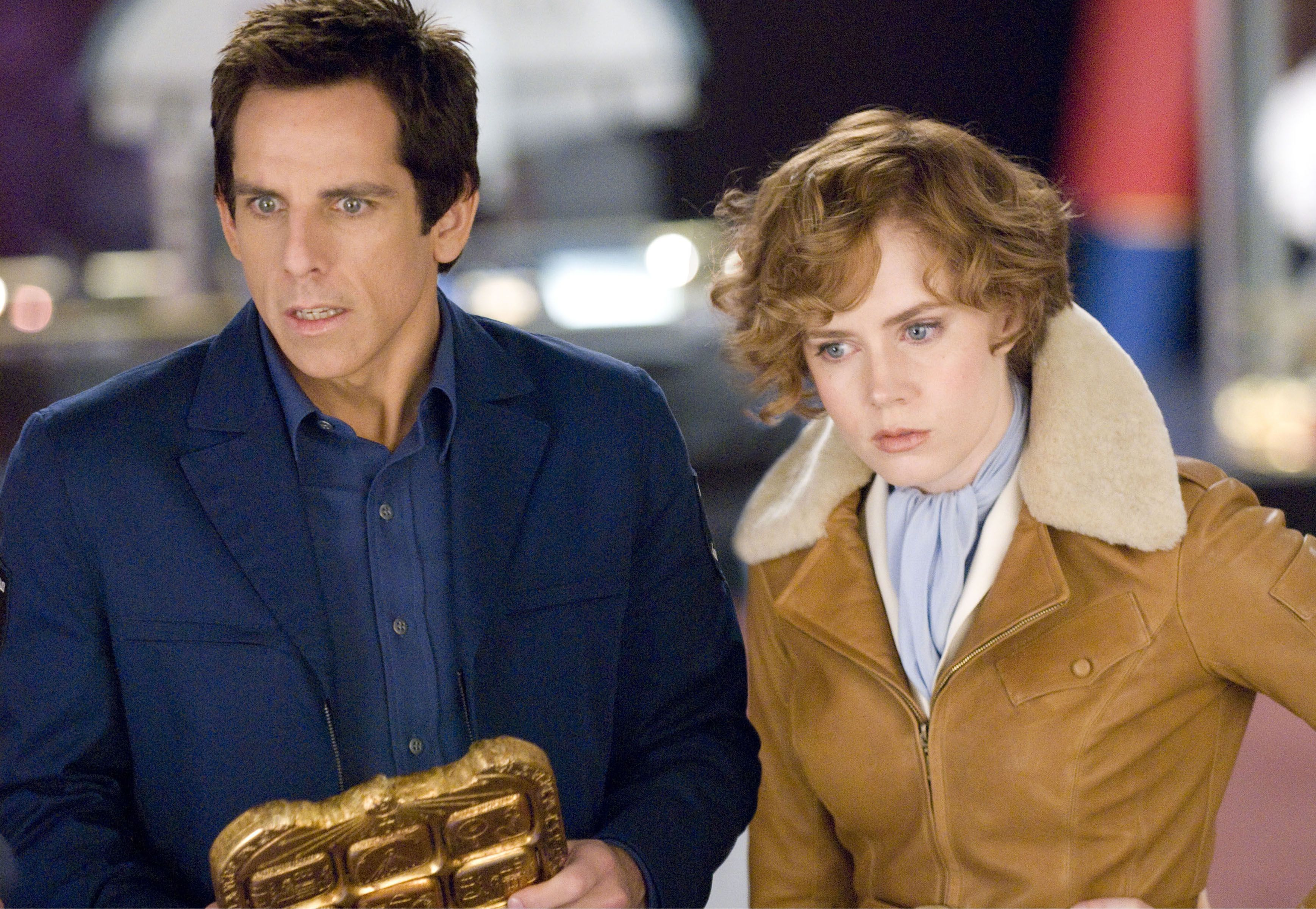"Ben Stiller and Amy Adams in 2006's ""Night at the Museum."""