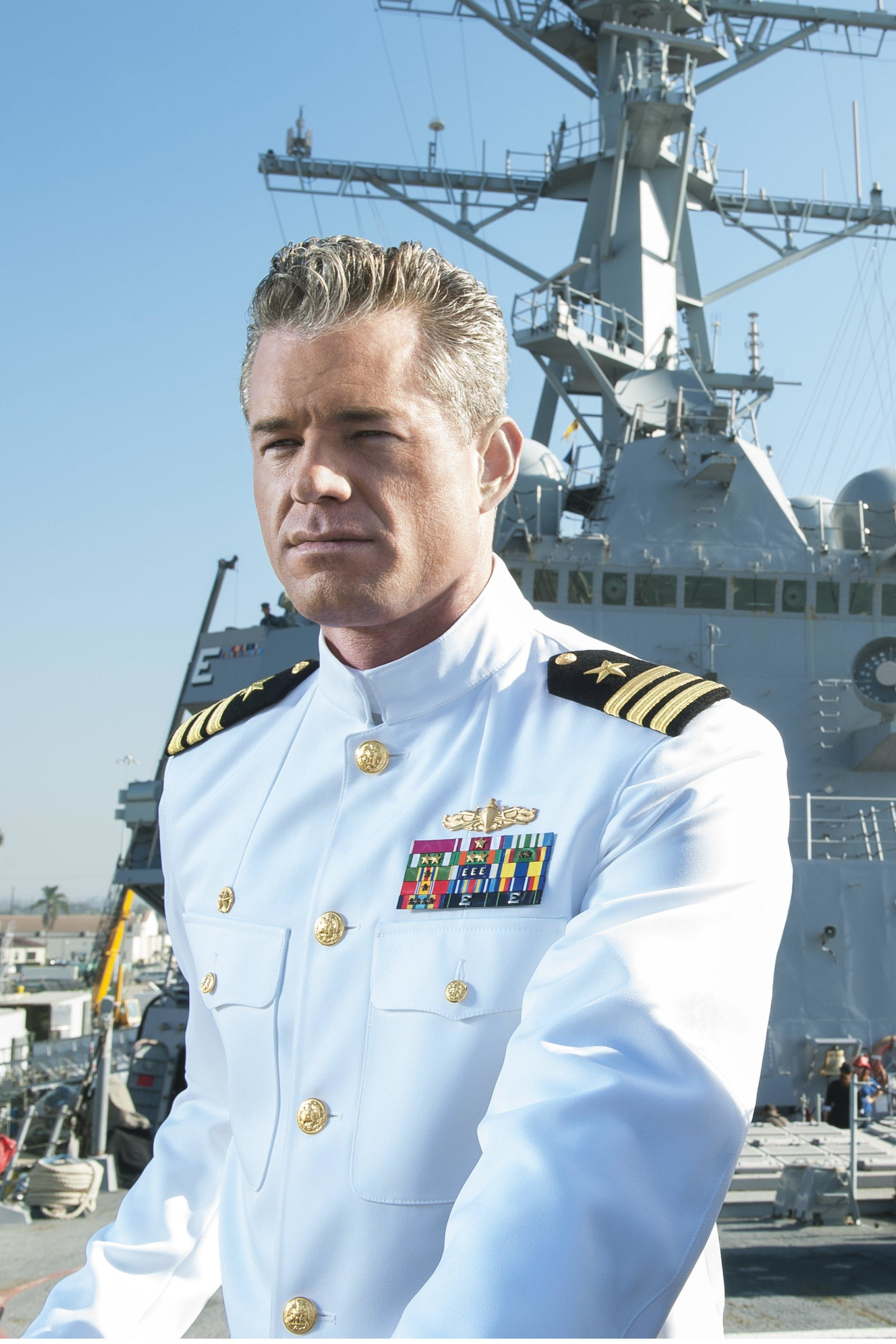 "Eric Dane appears in a promotional photo for TNT's ""The Last Ship"" in 2014."