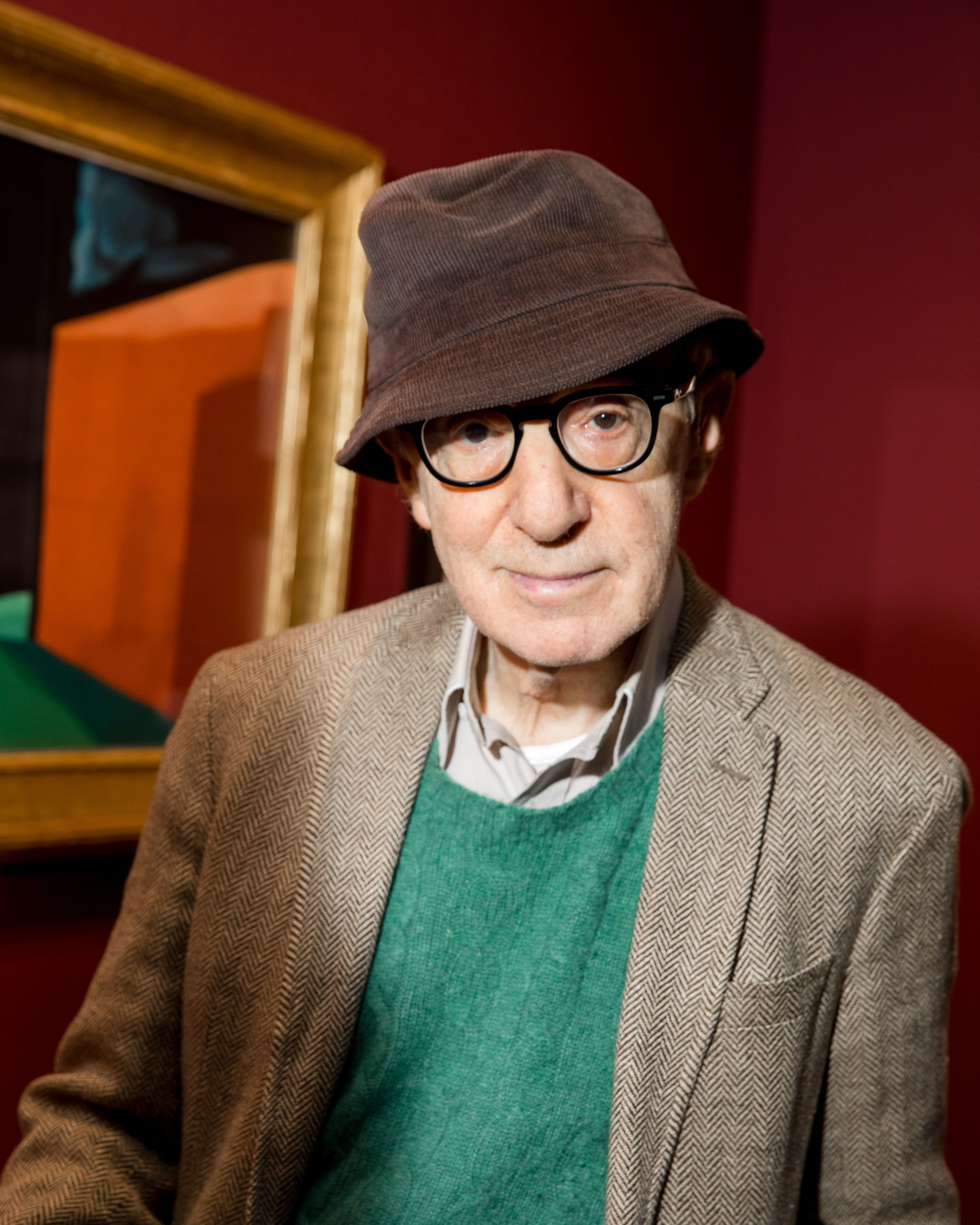 Woody Allen attends the Art Show Gala preview in New York City on Feb. 27, 2018.