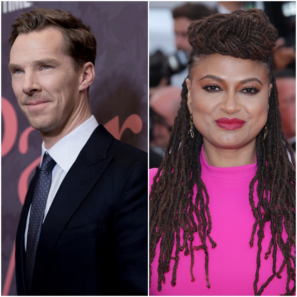 Benedict Cumberbatch Ava DuVernay appear in a composite photo from 2018.