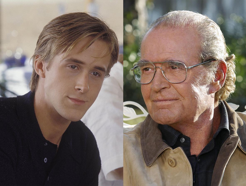 "Ryan Gosling and James Garner star as ""Noah"" in 2004's ""The Notebook."""