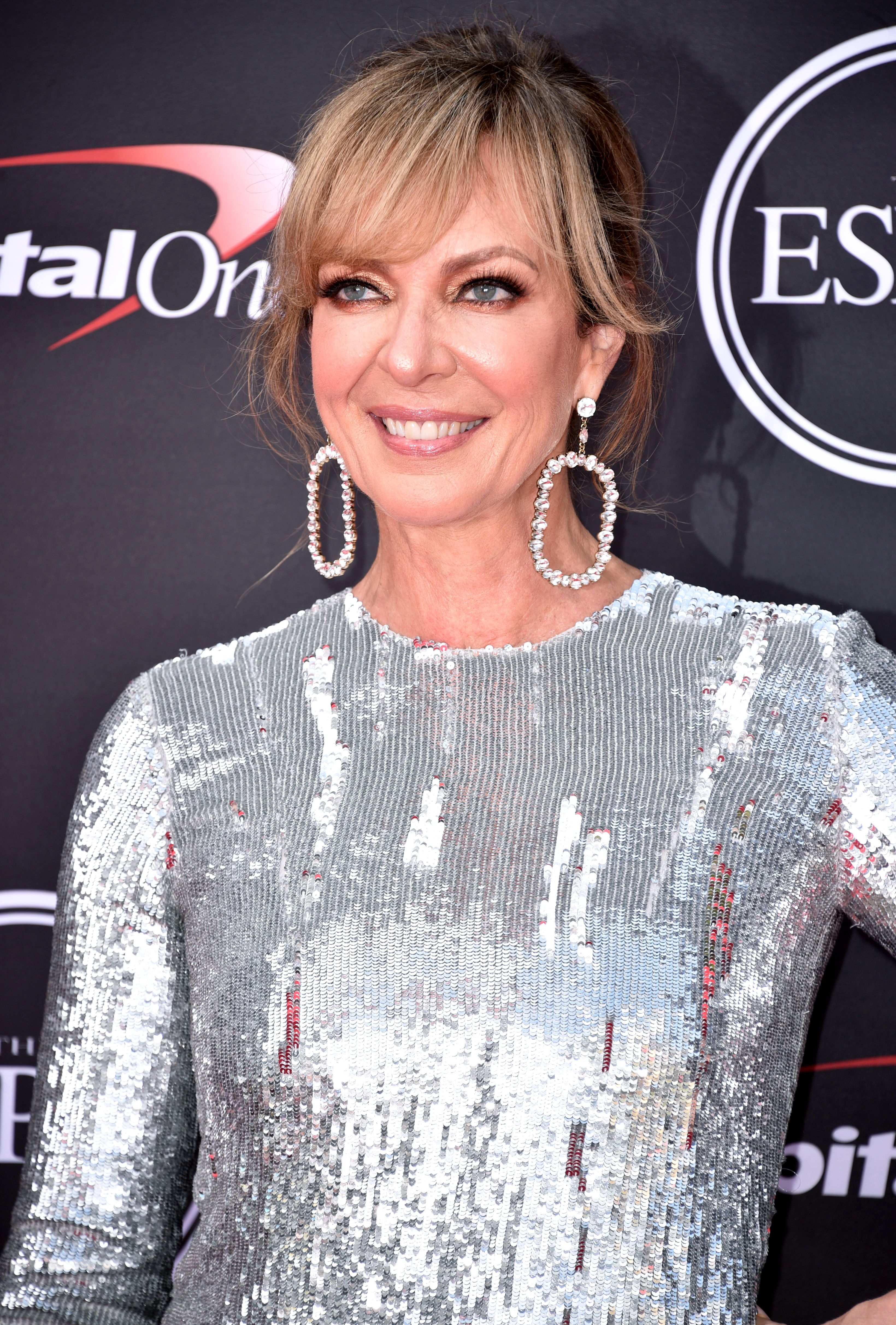 Allison Janney attends the ESPY Awards in Los Angeles on July 18, 2018.