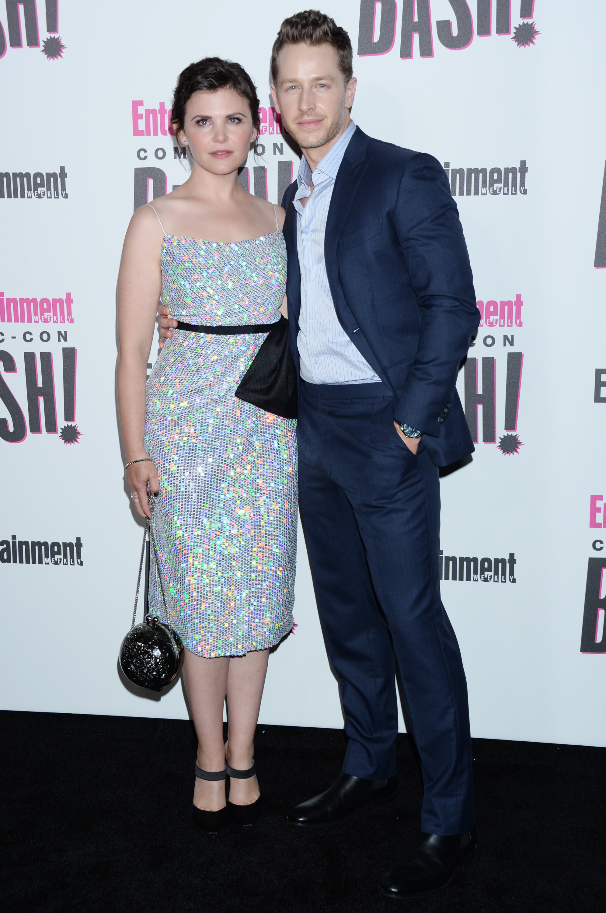 Ginnifer Goodwin and husband Josh Dallas attend the Entertainment Weekly party at Comic Con International in San Diego on July 21, 2018.