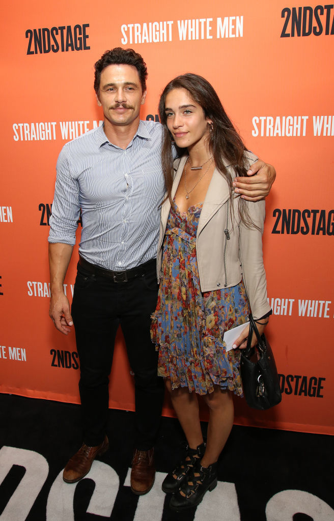 James Franco and Isabel Pakzad attend the Broadway Opening Night Performance of 'Straight White Men' at the Hayes Theatre in New York City on July 23, 2018.