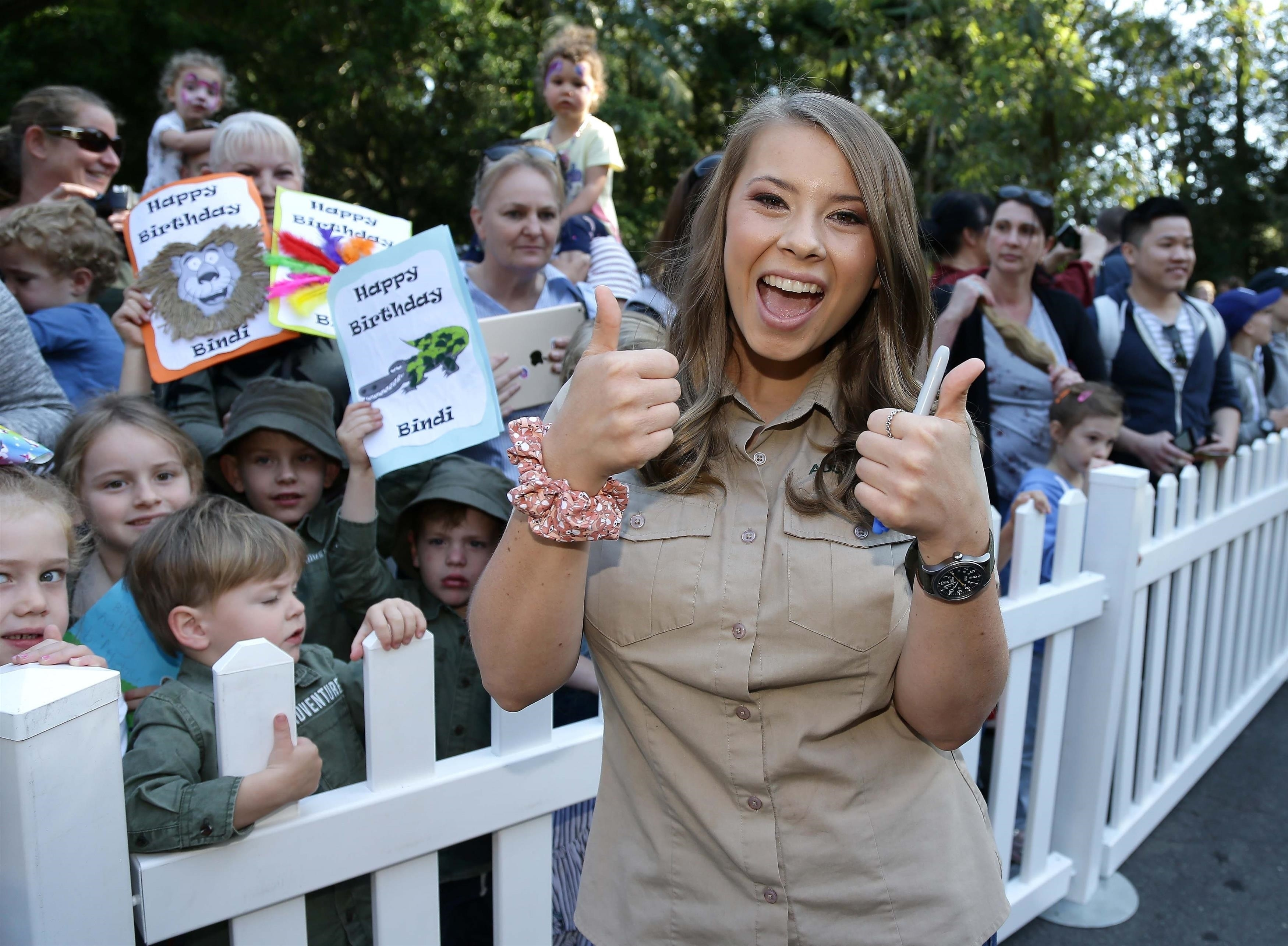 Bindi Irwin celebrated her 20th birthday at Australia Zoo with her family in Queensland, Australia on July 24, 2018.