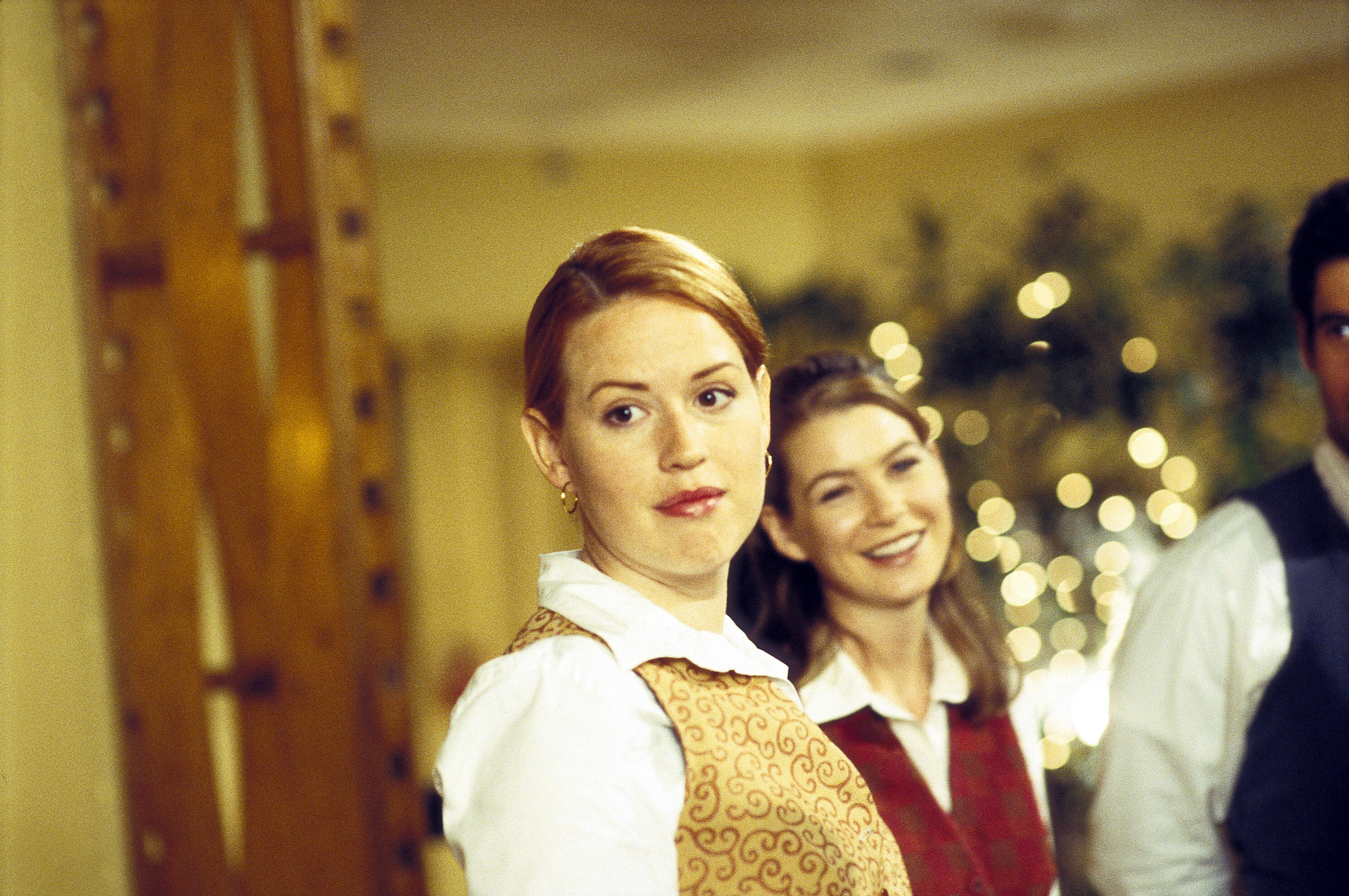 """Molly Ringwald and Ellen Pompeo in 200's """"In the Weeds."""""""