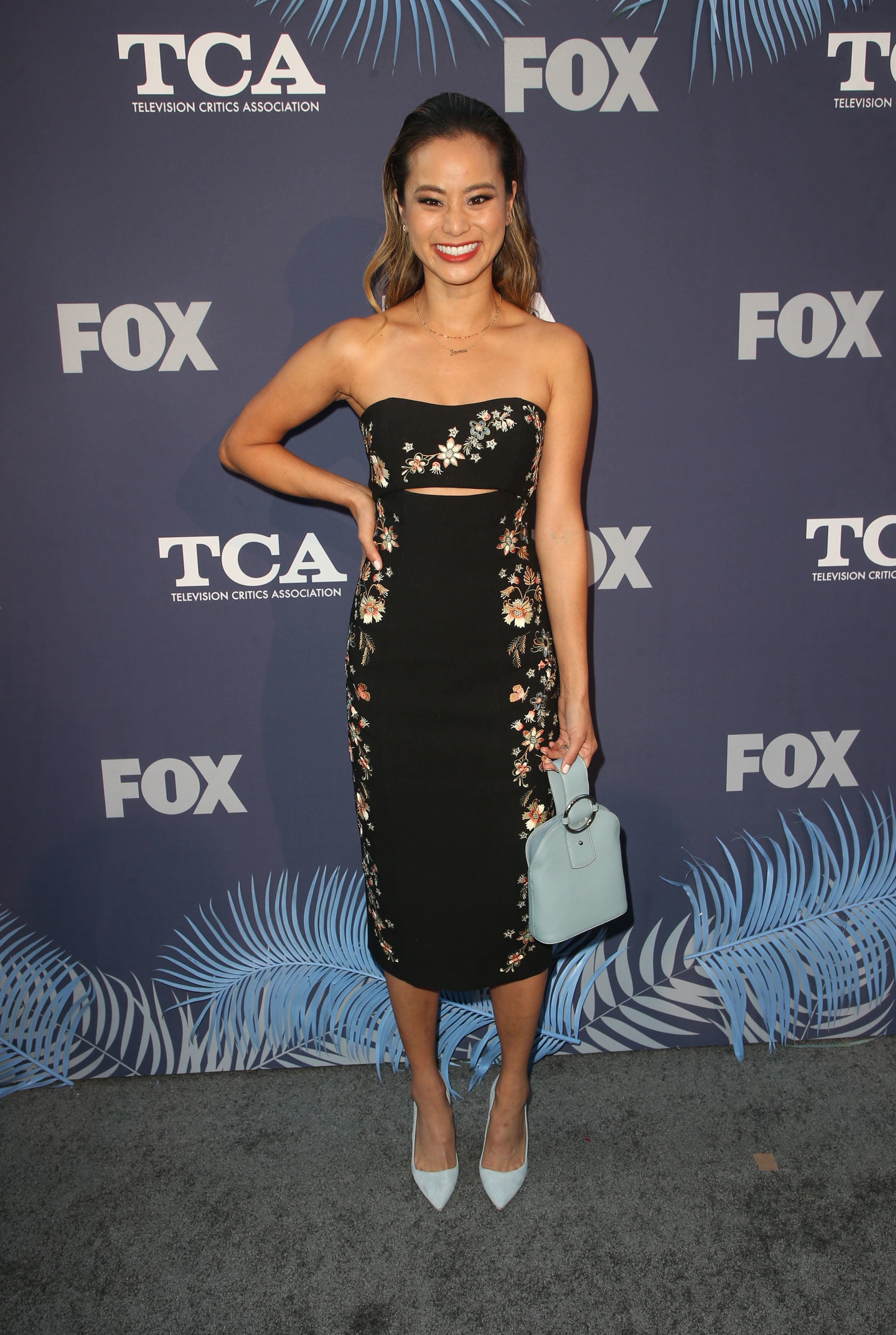 Jamie Chung attends the FOX Summer All Star Party during the TCA Summer Press Tour in Los Angeles on Aug. 2, 2018.